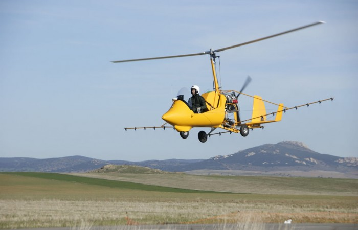 gyrocopter girodynamics ela aviacion agro doing well