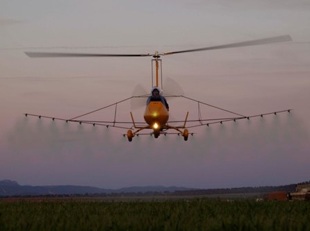 giroafrica ela aviacion agro gyrocopter