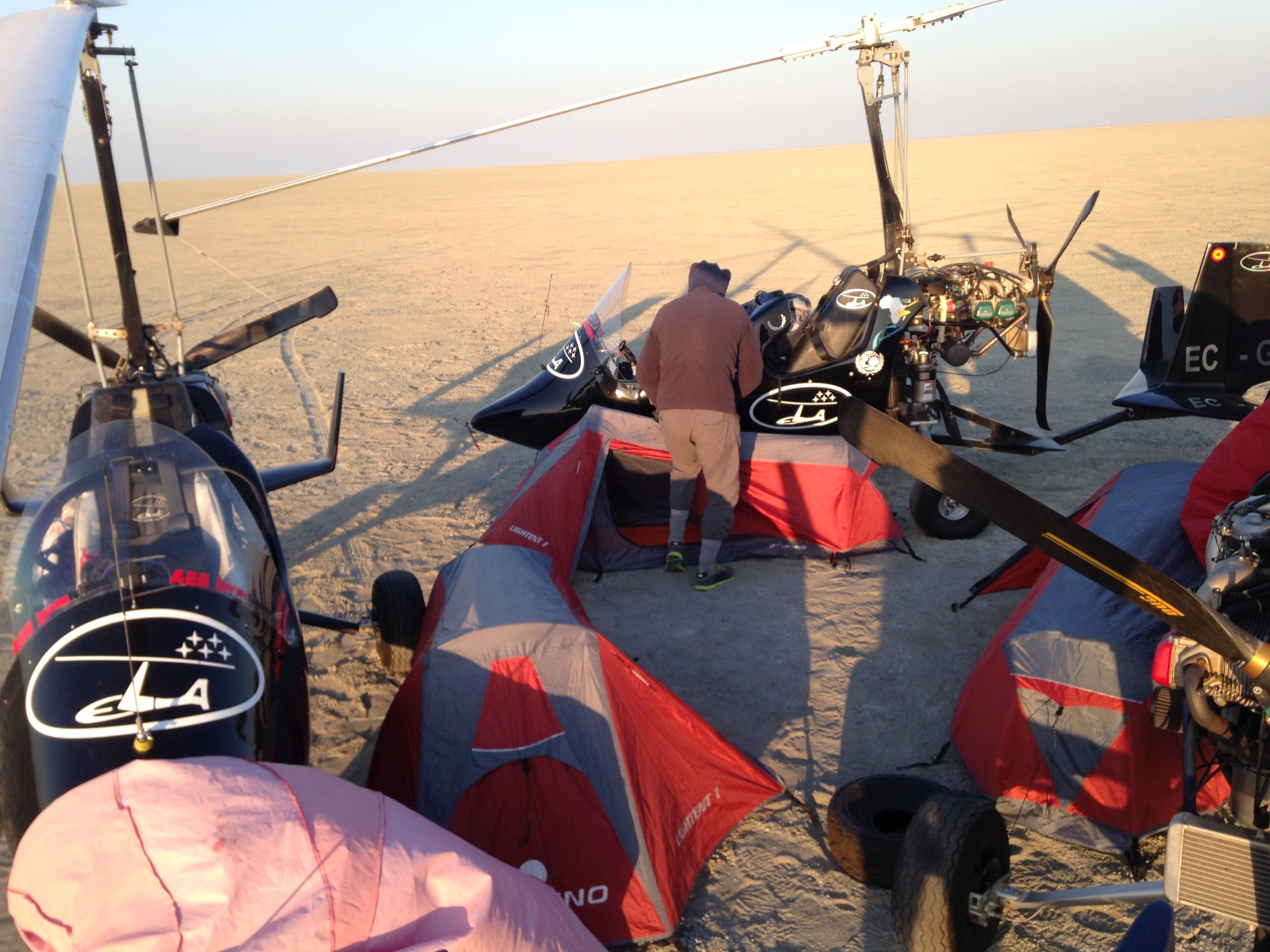 gyrocopter view andalucia