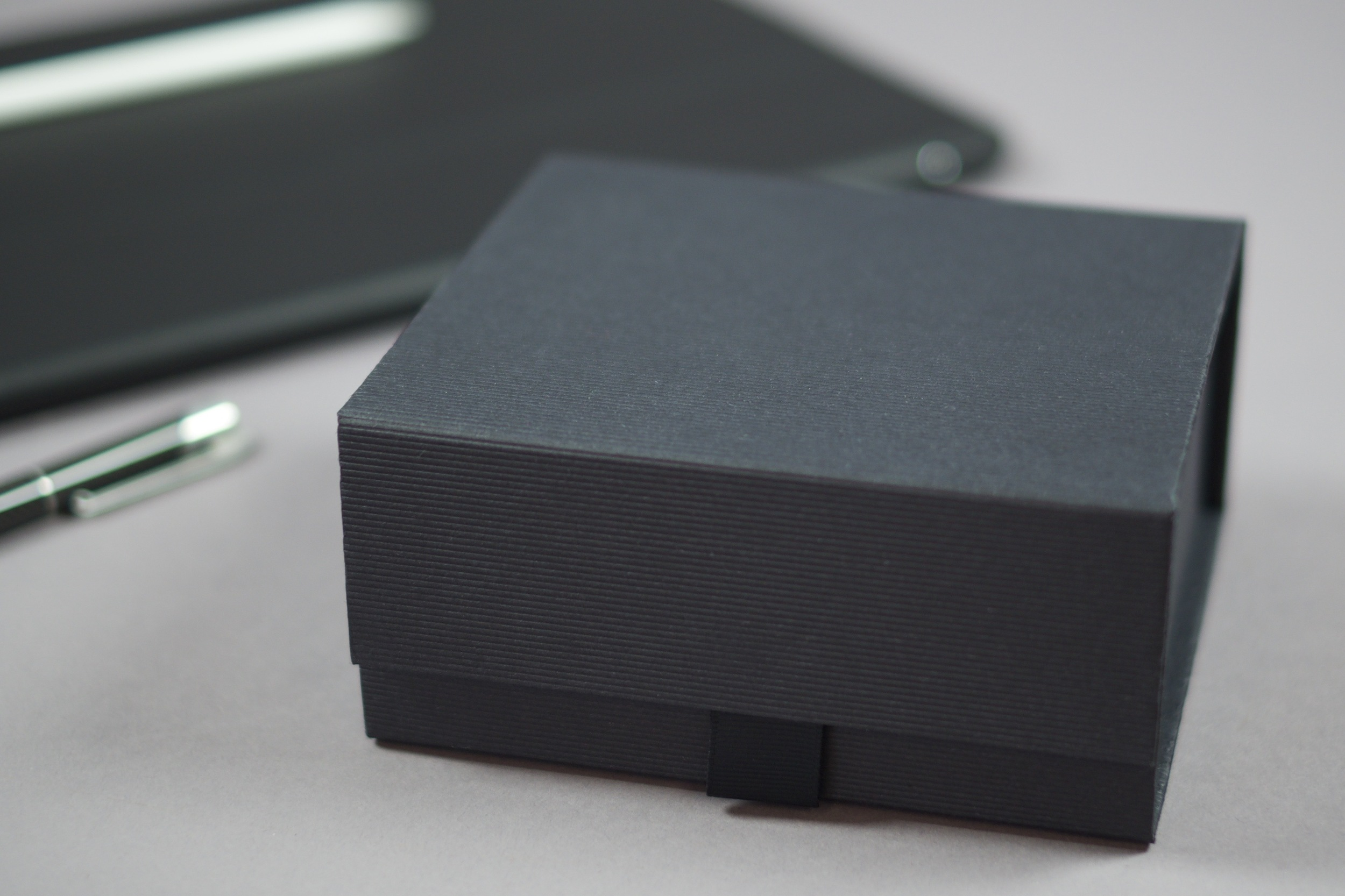 Our Paperweights come handsomely dressed in a fluted card box.