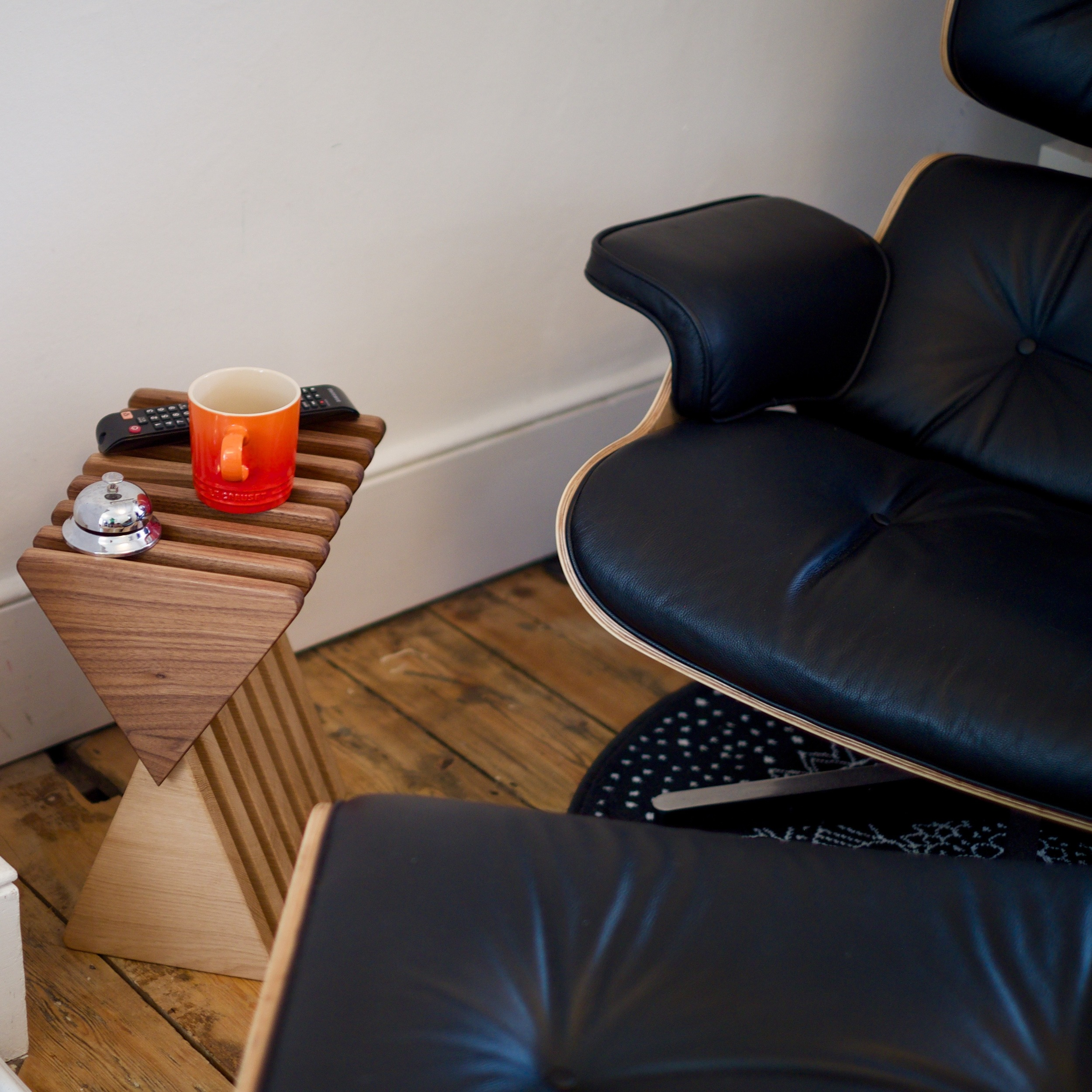 The Vinci Stool - the ultimate accessory for an Eames Lounger