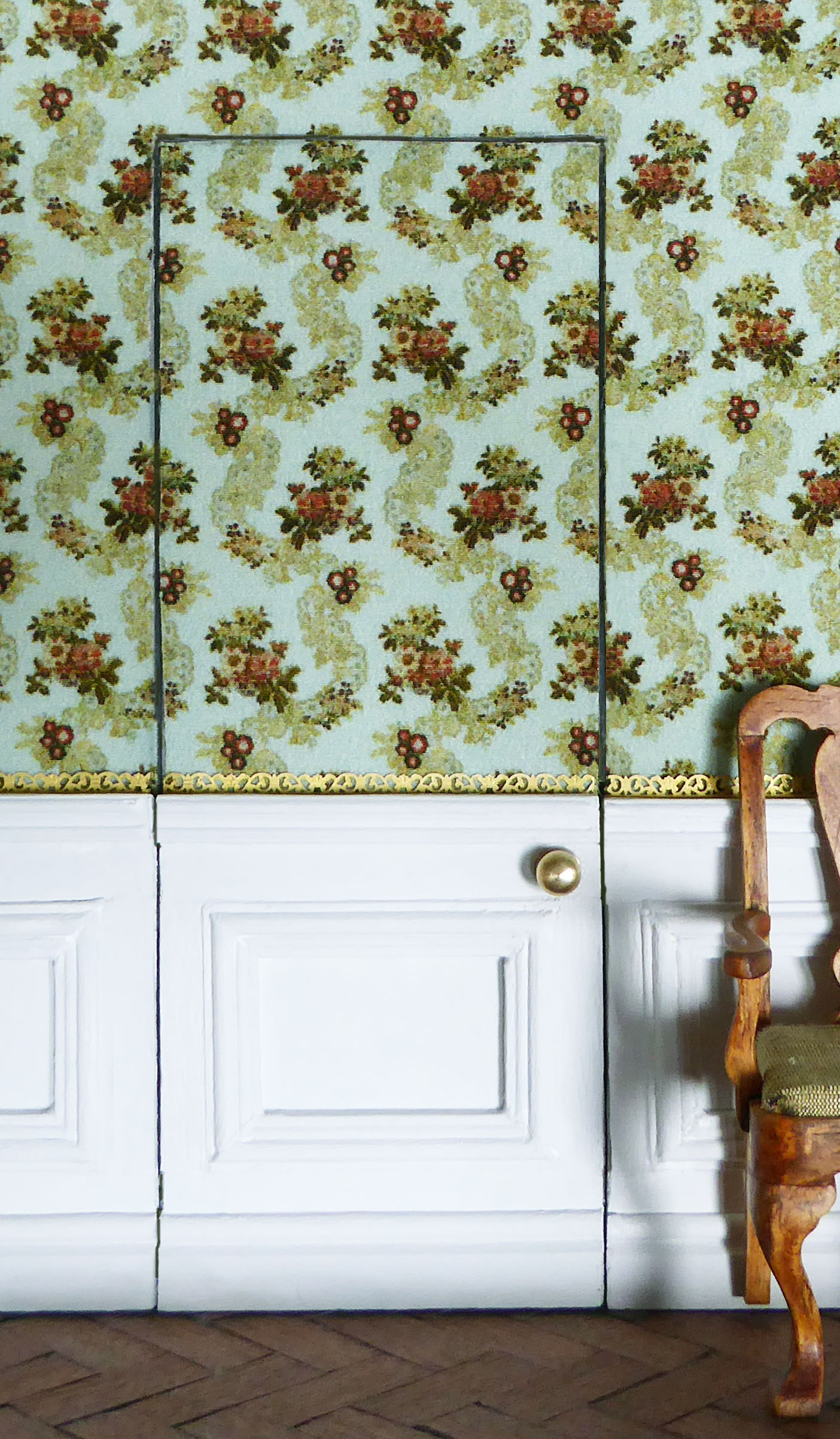 Wall covered in 'Holford' silk.jpg