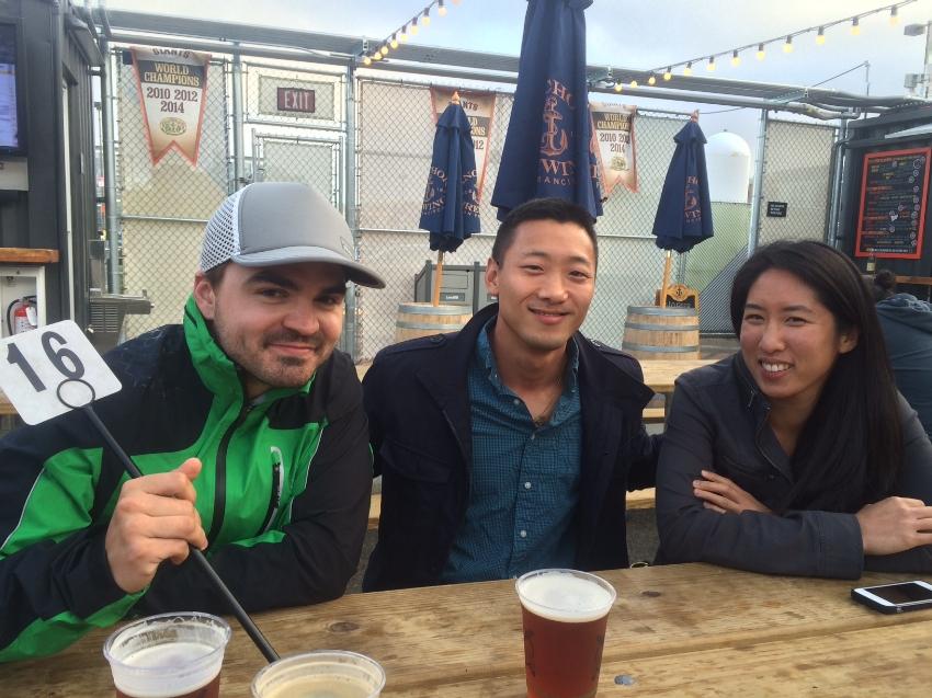 Erik, Eric Hardy and Leana Lai