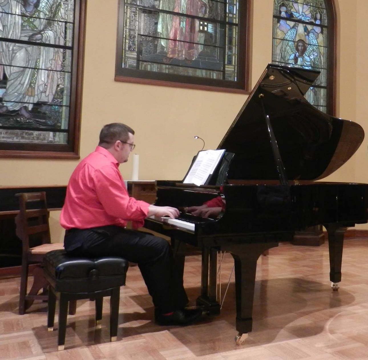 Performing at the Belvedere Chamber Music Festival, June 2015.