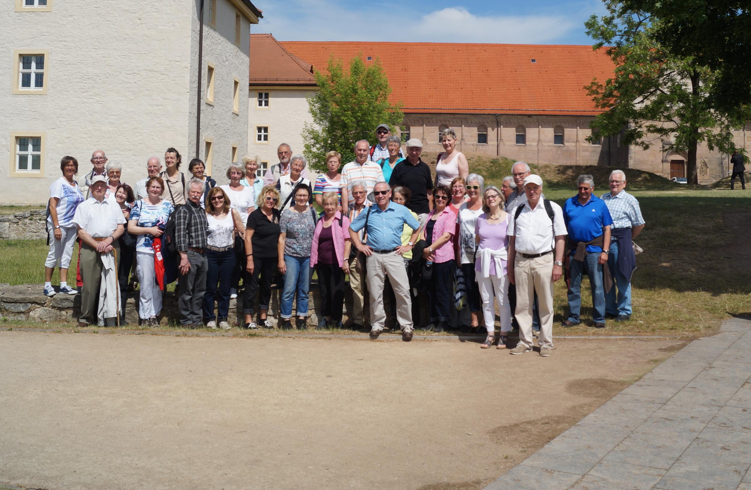 Niederelberter Kulturverein besuchte Weimar und Erfurt