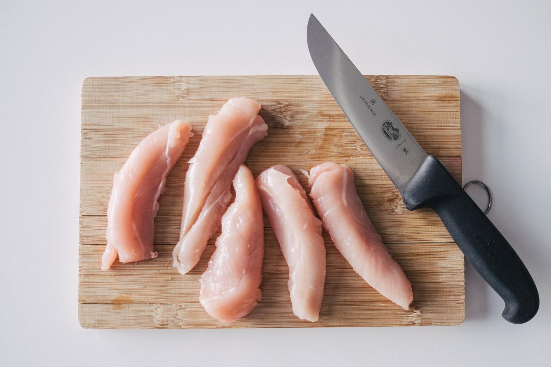 Pfotentick Loveoflabradors Rezept Hühnerstreifen