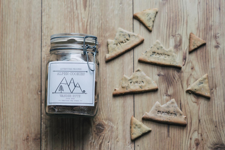 Alpen-Cookies von Wander Rute
