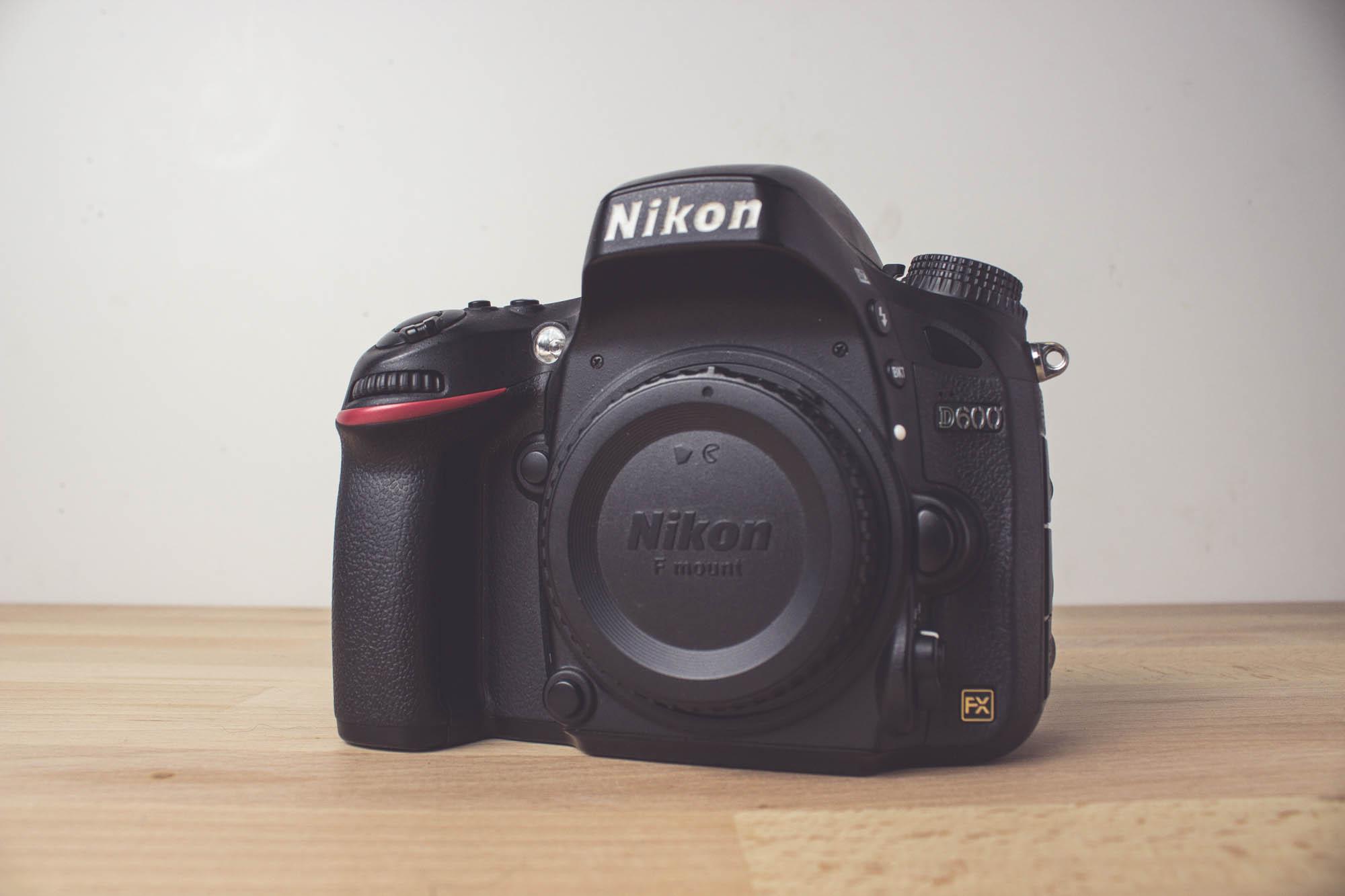 Die Nikon D600 (Body)