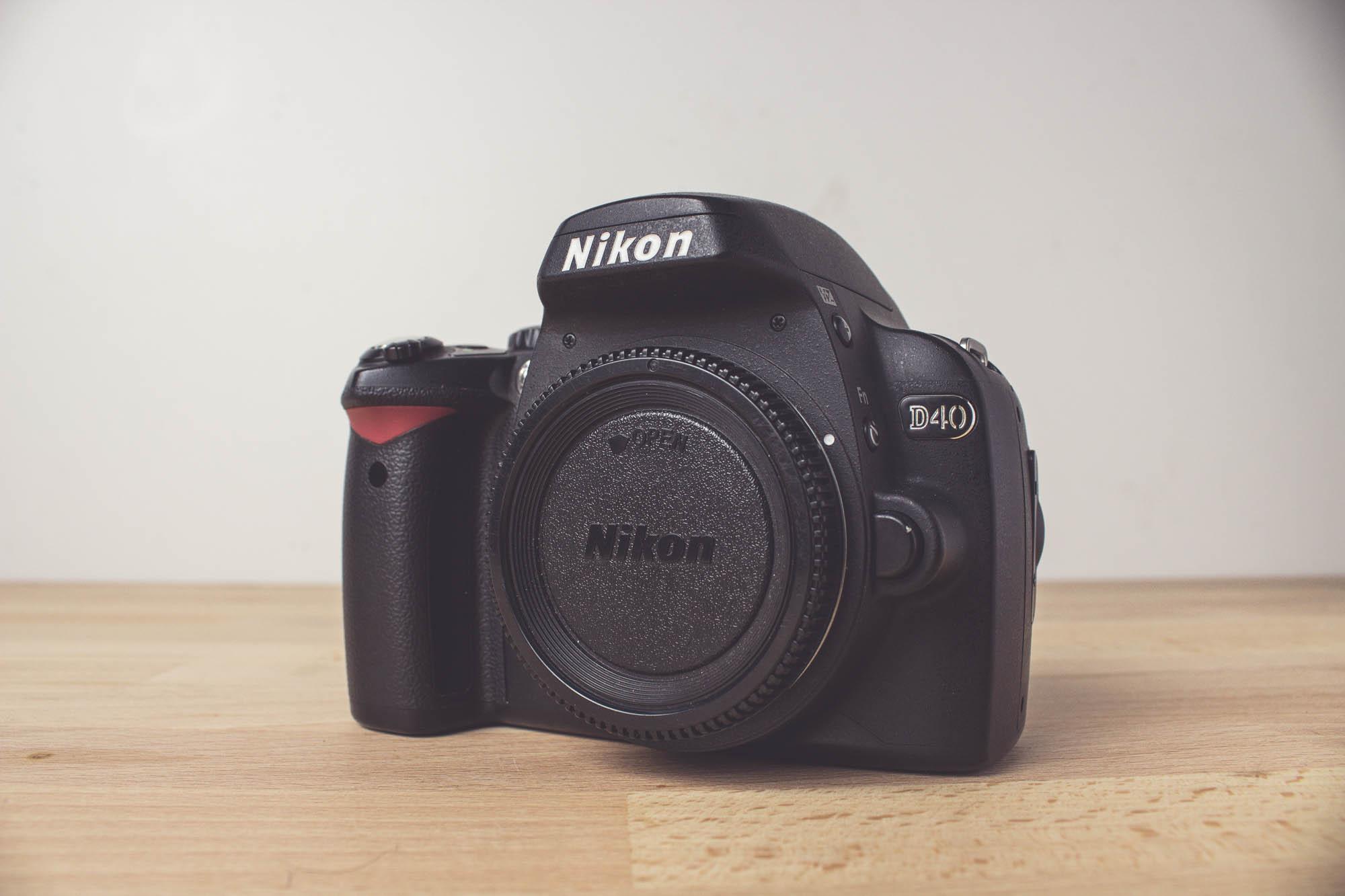 Die Nikon D40 (Body)