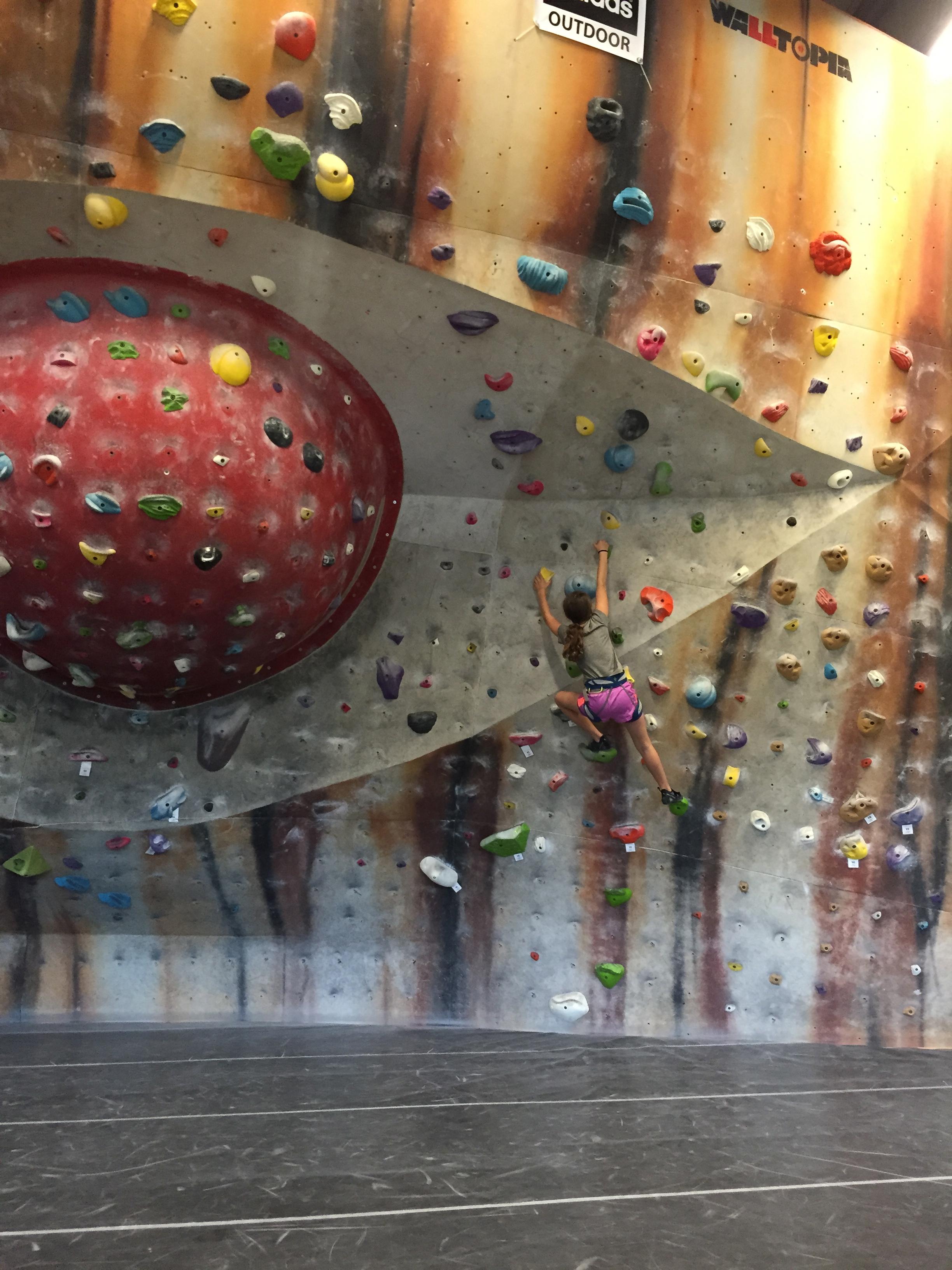 Boldering Wall (No Ropes!)