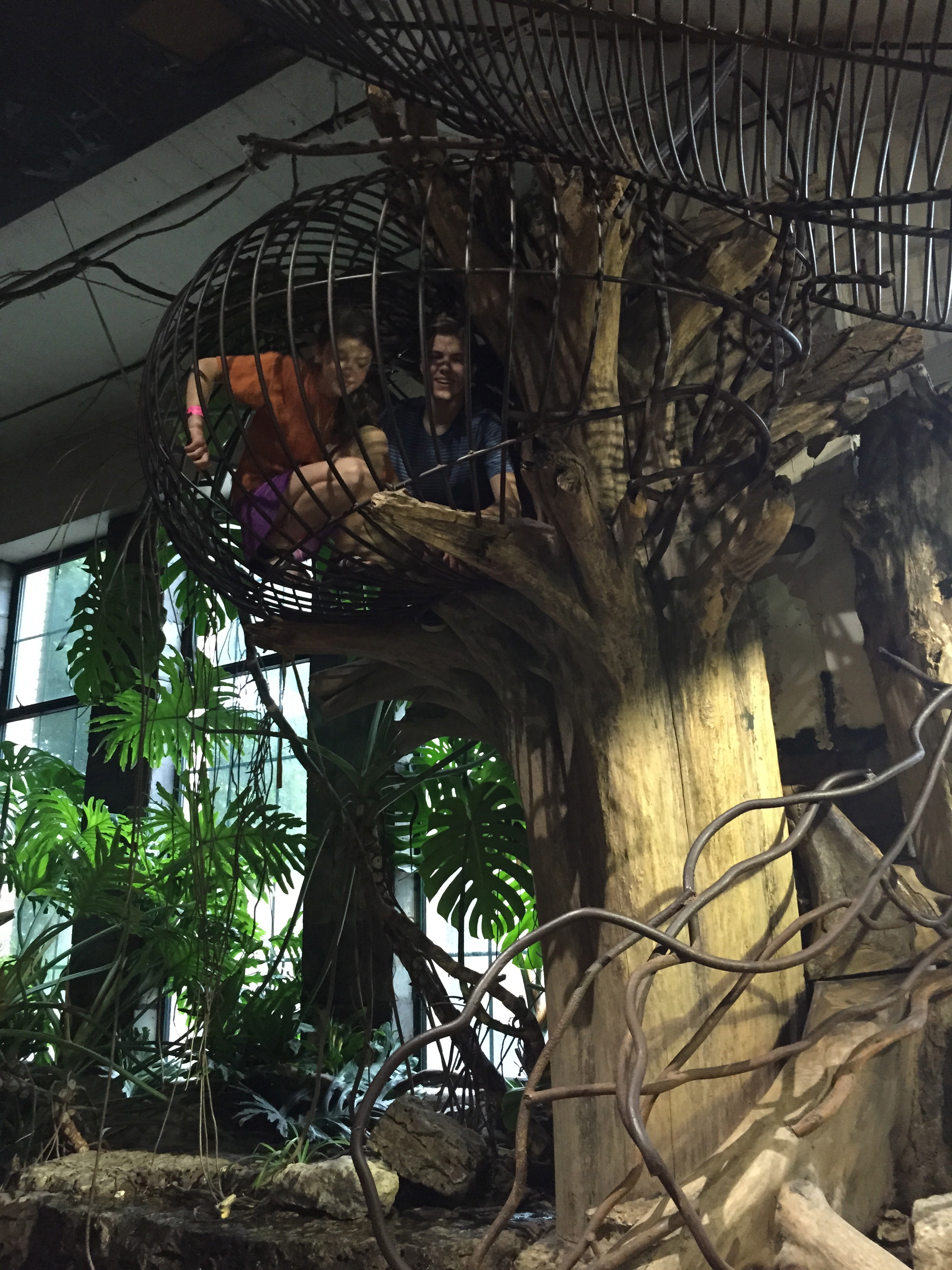 At the City Museum.