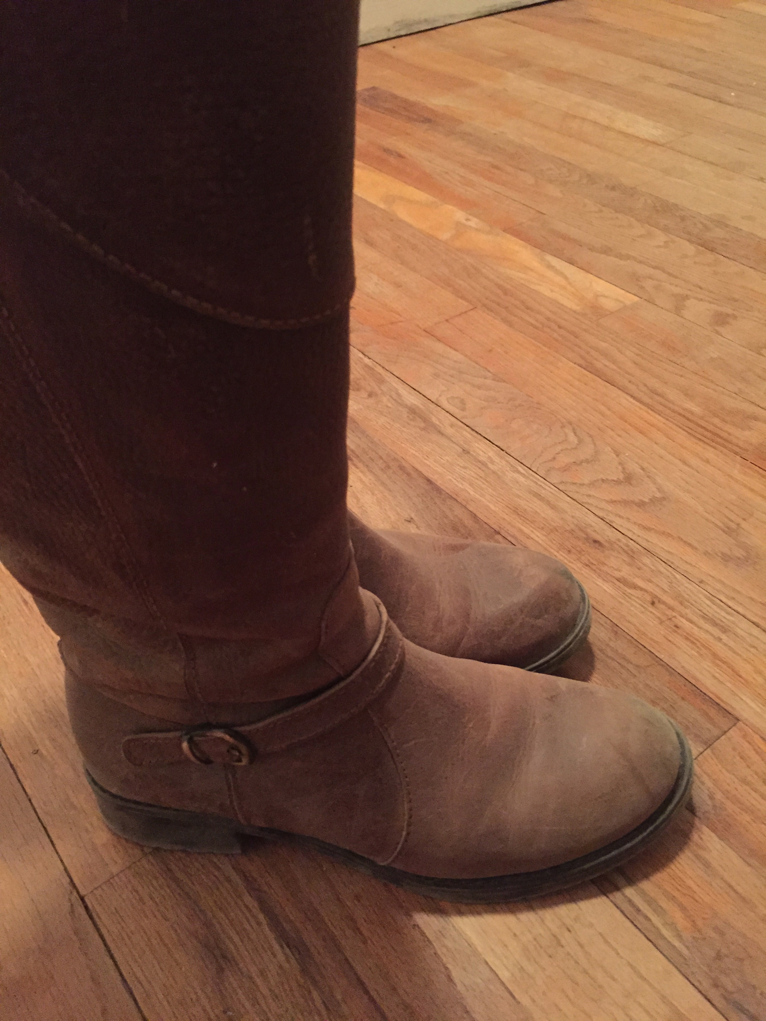 Fashion boots meet the ranch