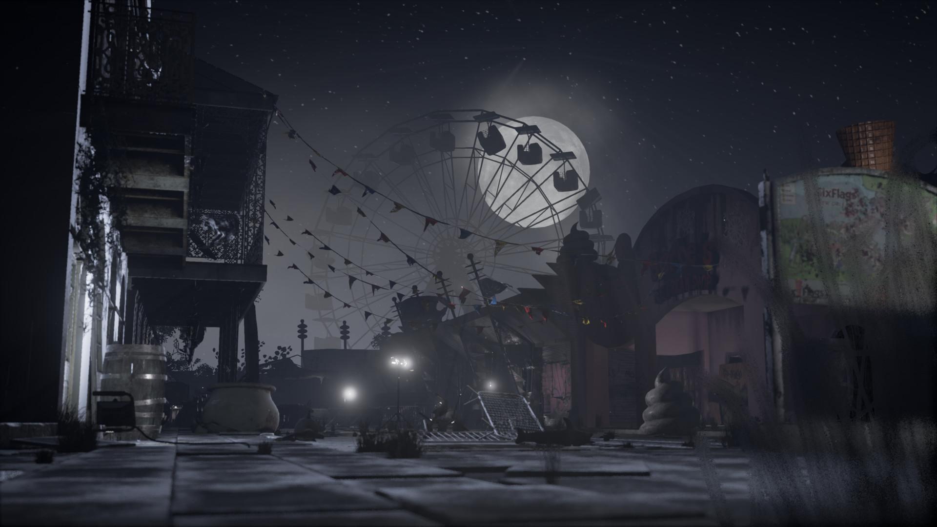 Abandoned Theme Park George O Keeffe