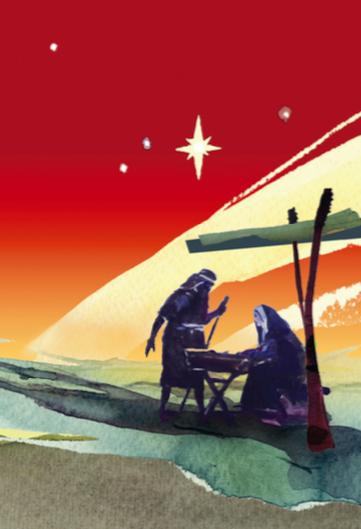 David Holmes' wonderful parish Christmas card