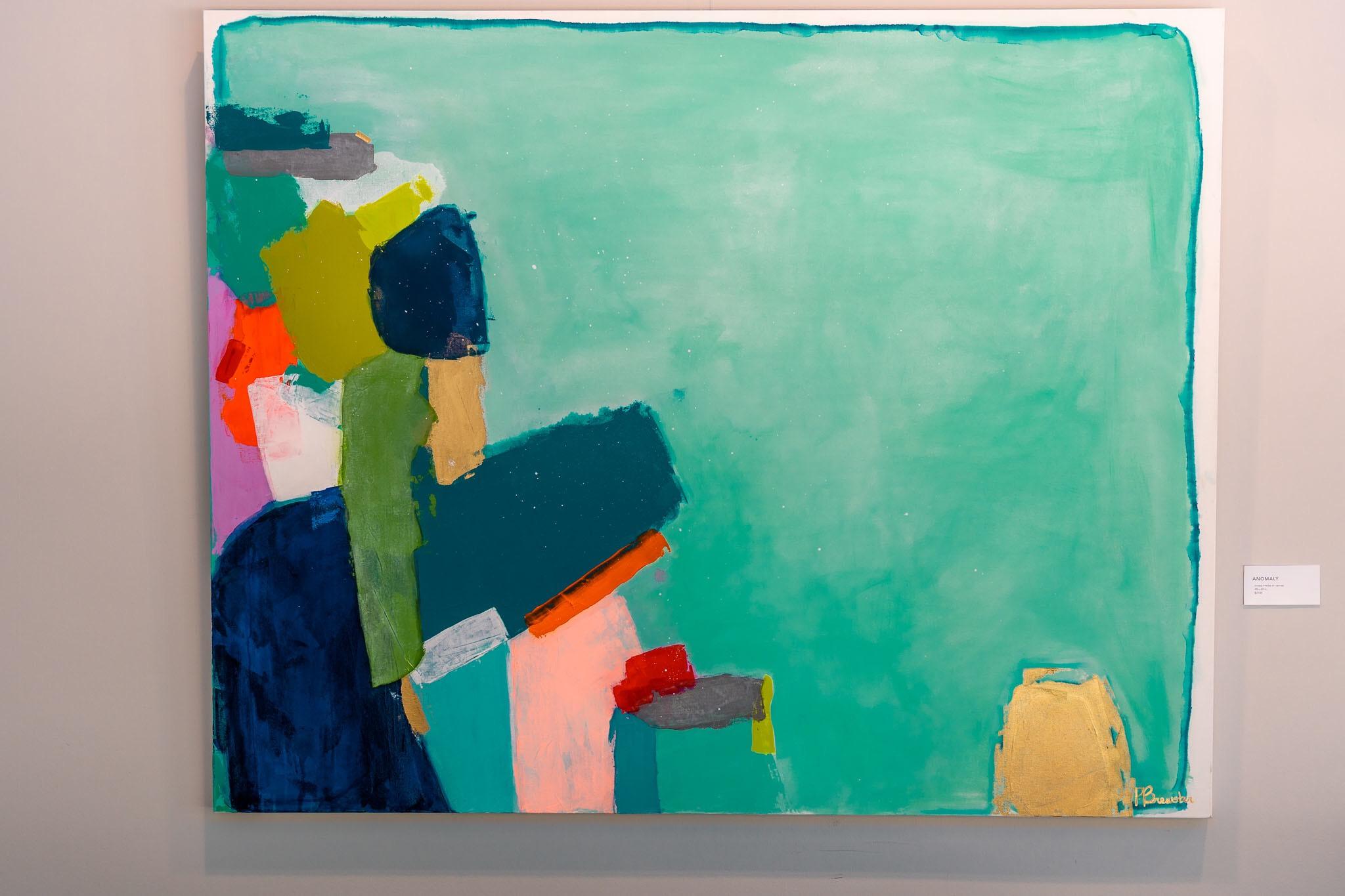 ANOMALY mixed media on canvas