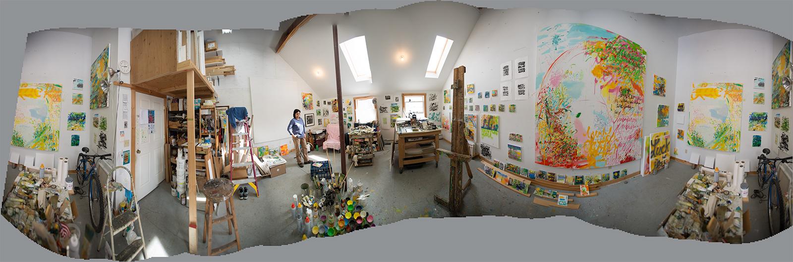 Vermont Studio Center, studio photo by Warren Buckles, 2015  http://www.warrenbuckles.com/