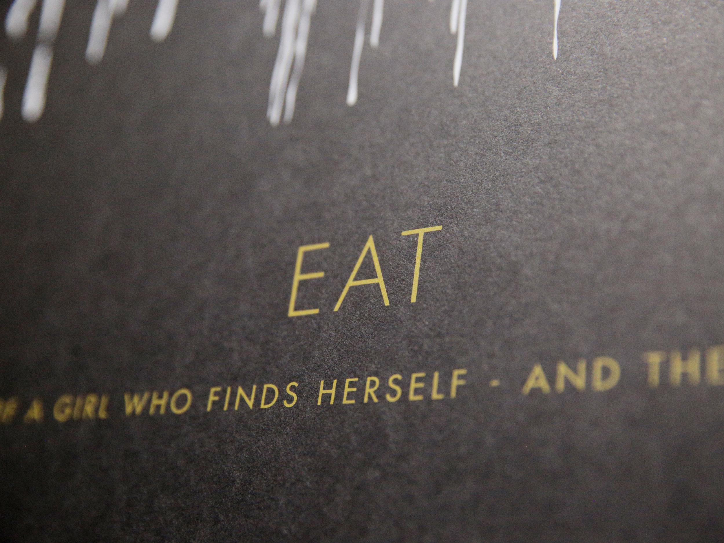 EAT Screen Print