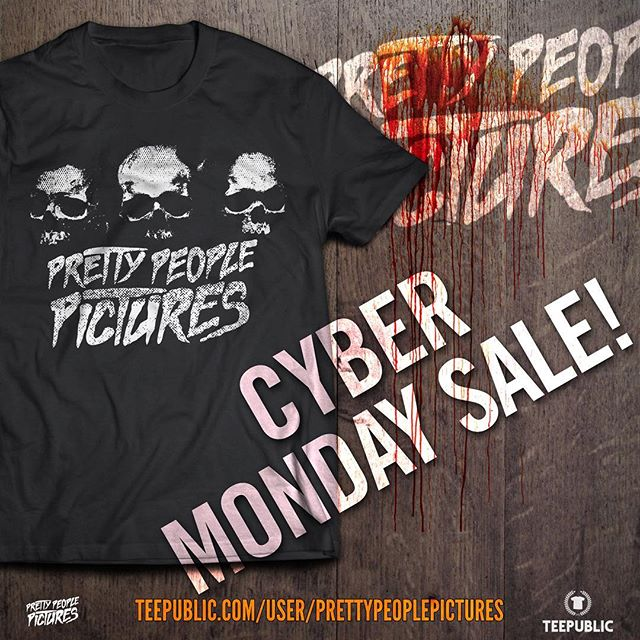 Cyber Monday Sale on our TeePublic Store. Everything is on sale! Get this design and 29 others on shirts, hoodies, coffee mugs, phone cases and more! Link in our bio!