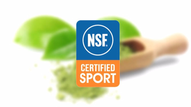 Proudly NSF Certified.