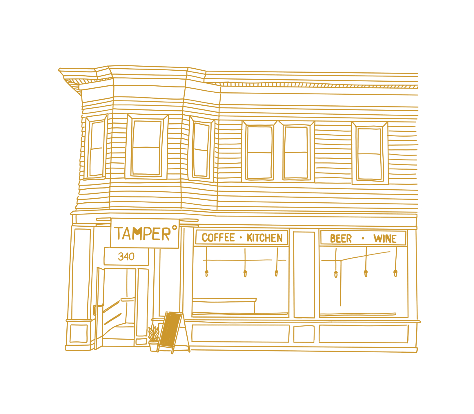 Custom Storefront Illustrations - I create charming custom illustrations to showcase unique storefronts. These are great for social media or to celebrate a milestone!