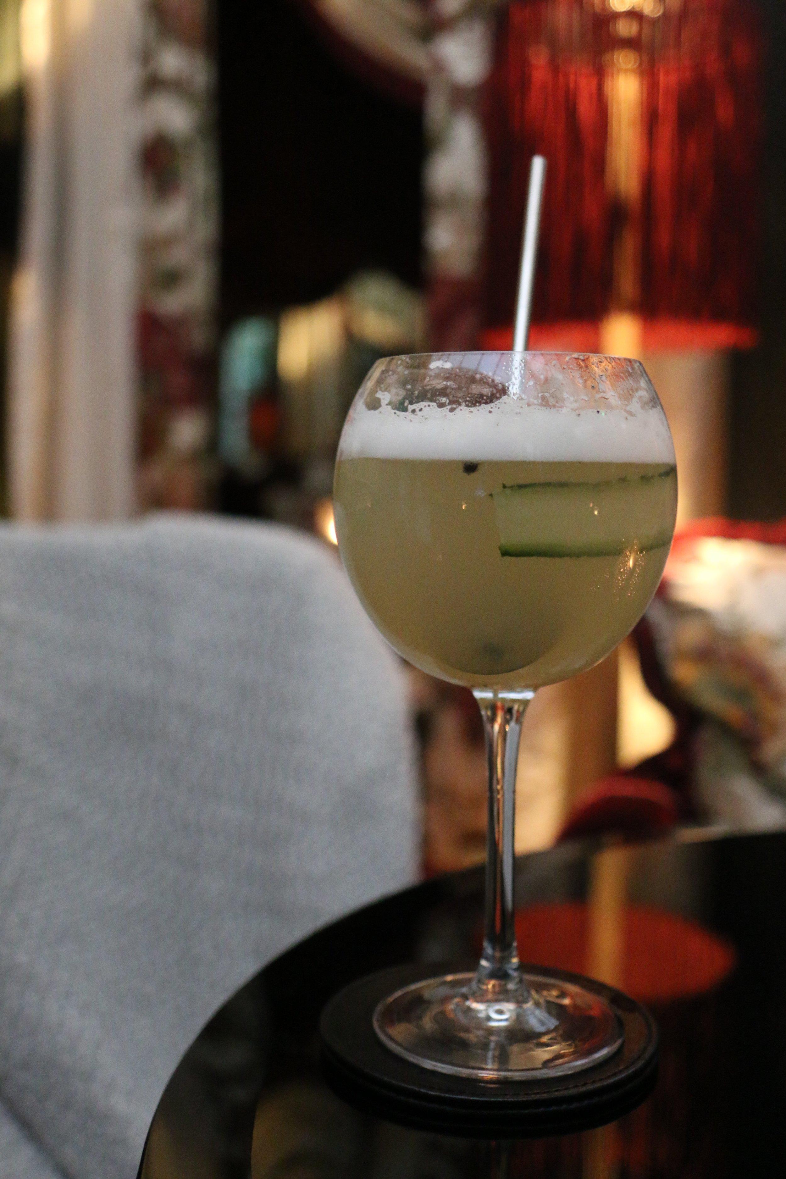 Cocktails at Maison Souquet