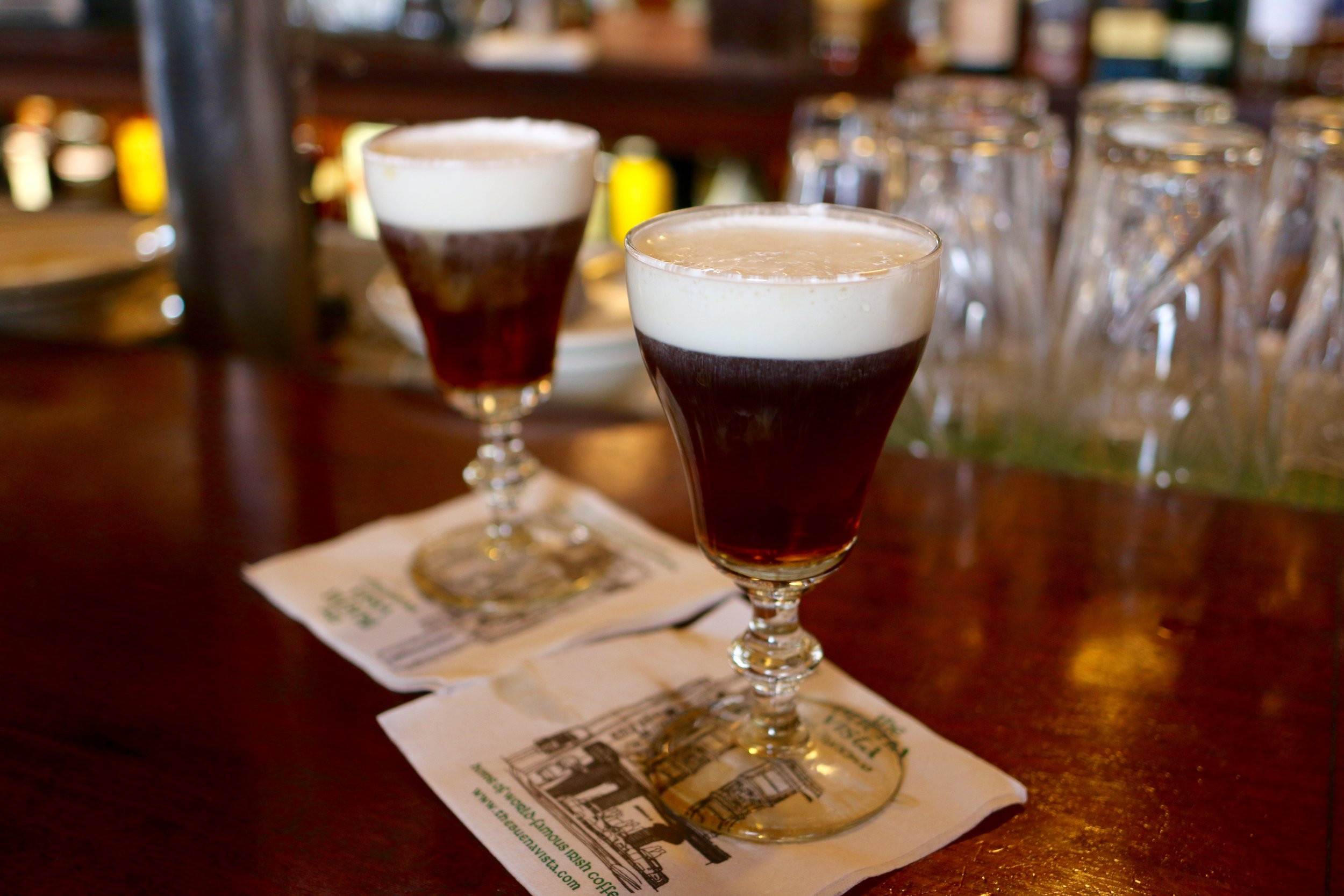 The Buena Vista's Famous Irish Coffee.