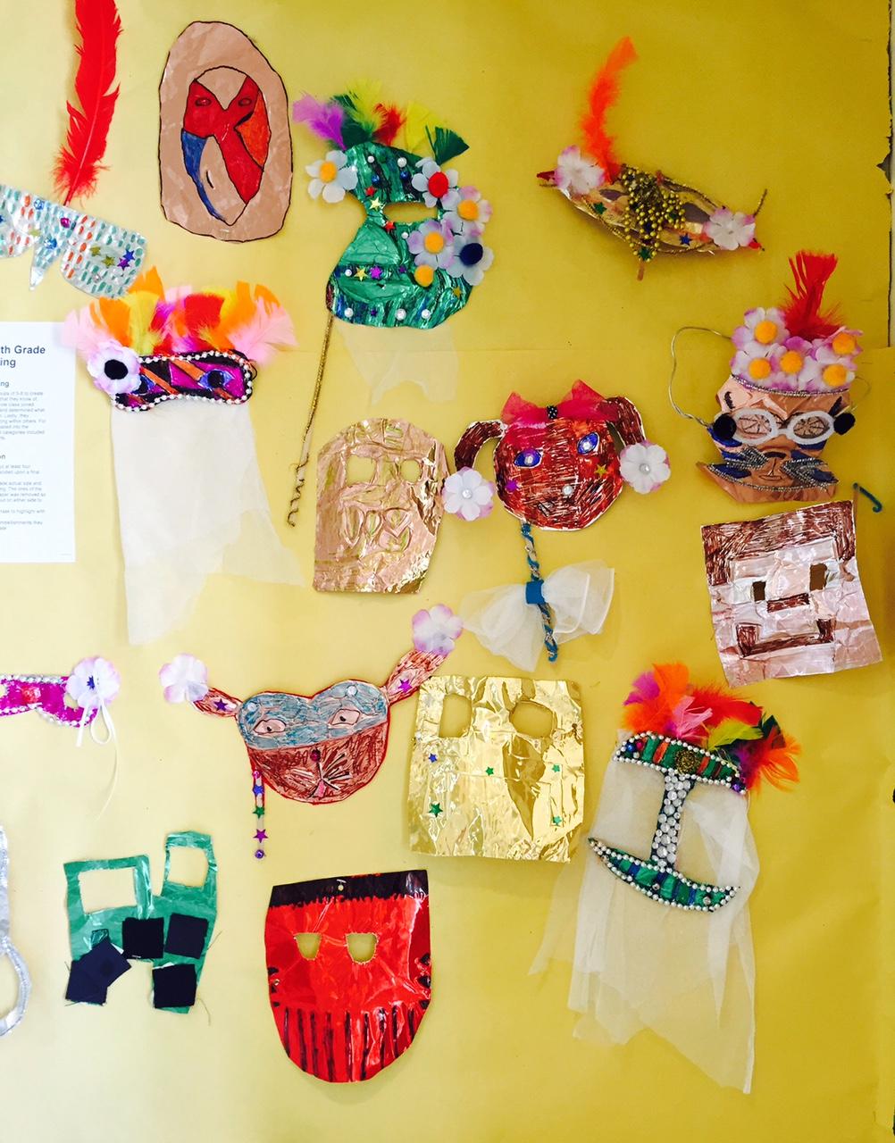 Sixth Grade Mask display