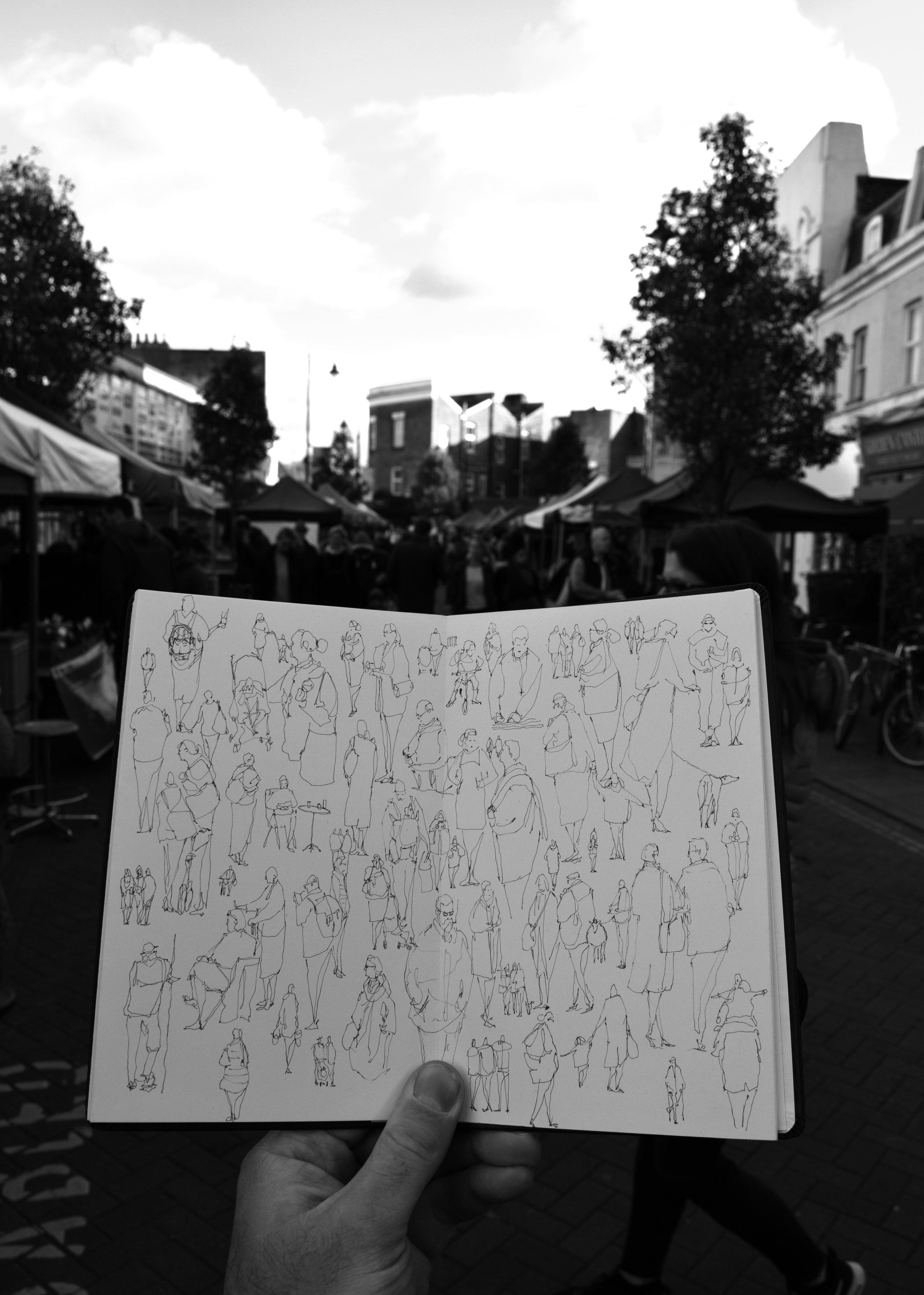 Herne Hill - peoplewatching - Luke Adam Hawker.jpg