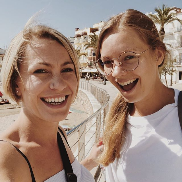 #tbt to Spain with the lovely @dansko_if_you_want_to. Counting down the days until England 🏴 #barcelona #sitges