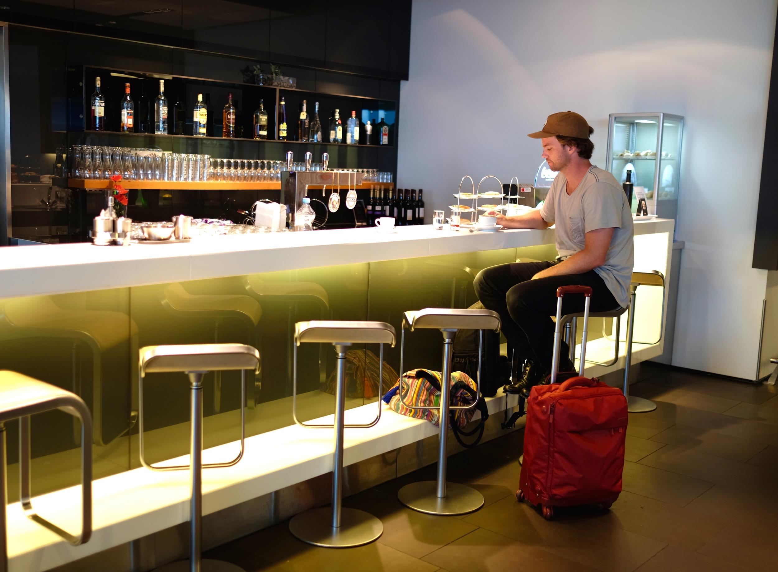 Lufthansa Business Class Lounge, Frankfurt