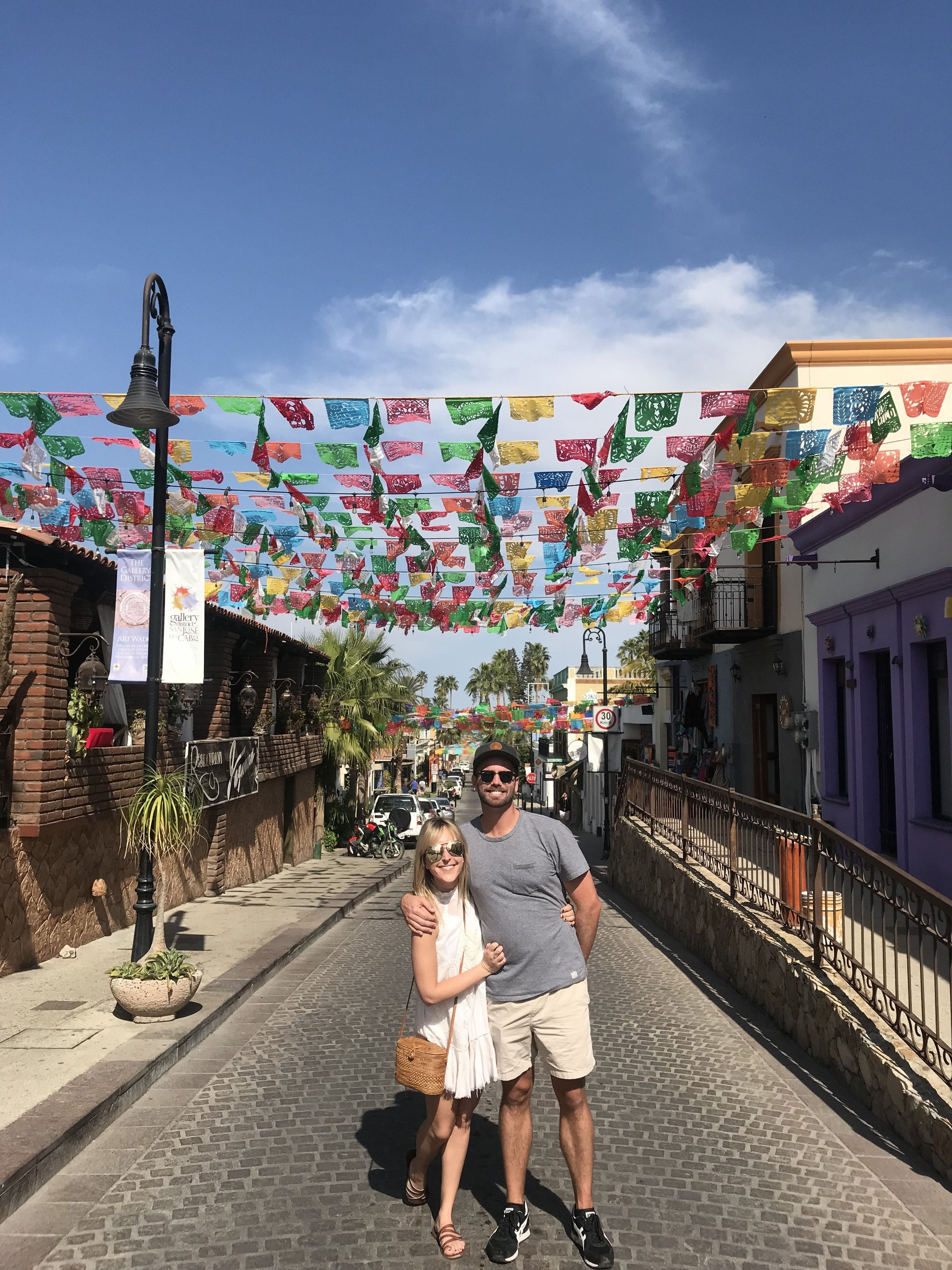 Exploring San Jose Del Cabo Traveling Newlyweds