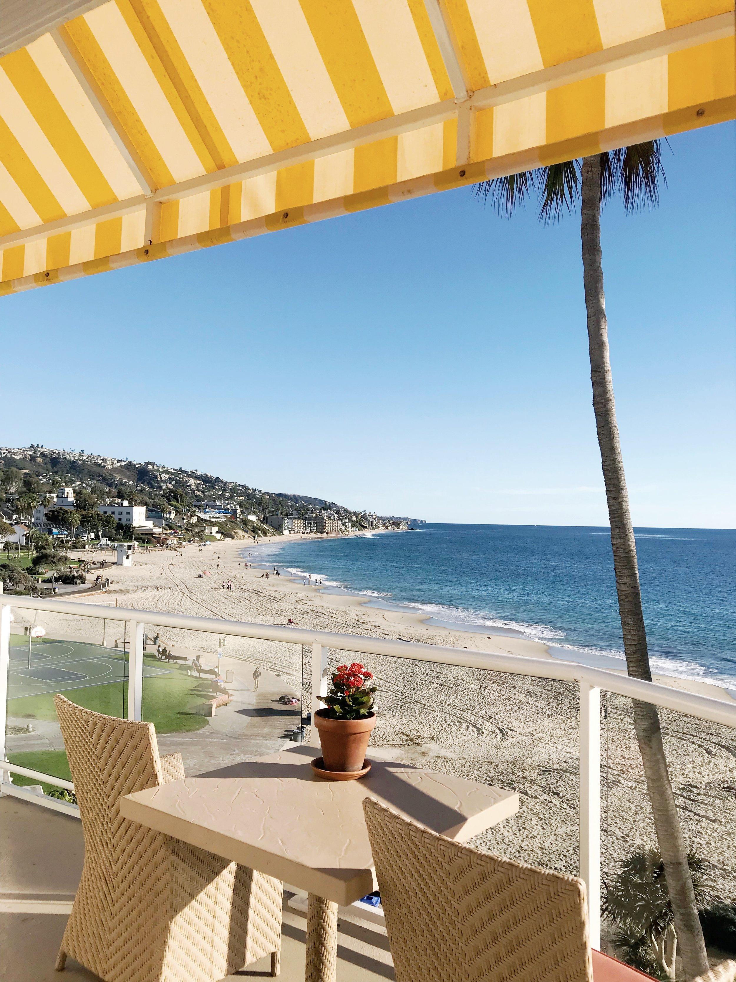 Stunning views from the Inn at Laguna Beach