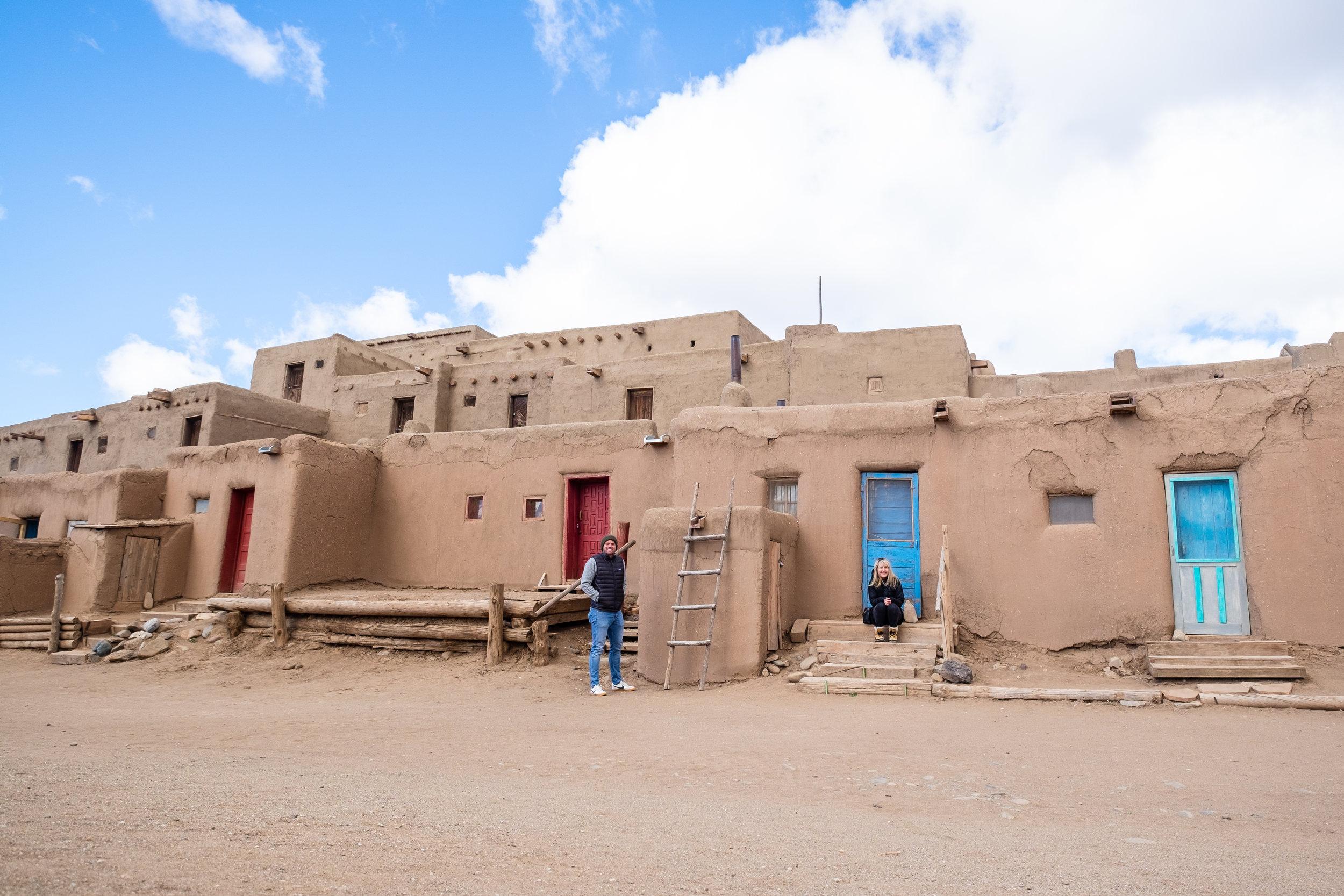 Exploring the historic Taos Pueblo