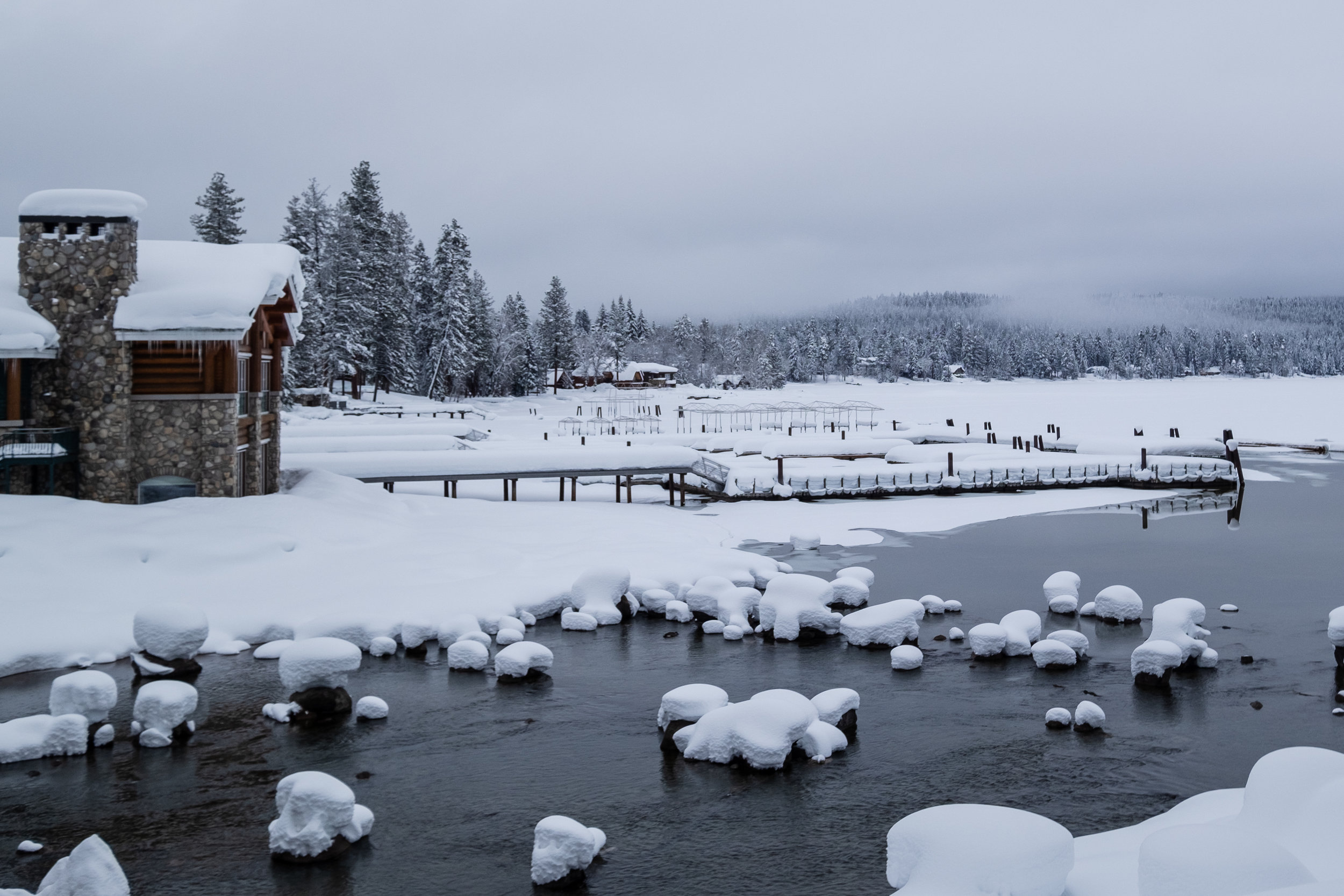 Payette Lake with a winter coat :)