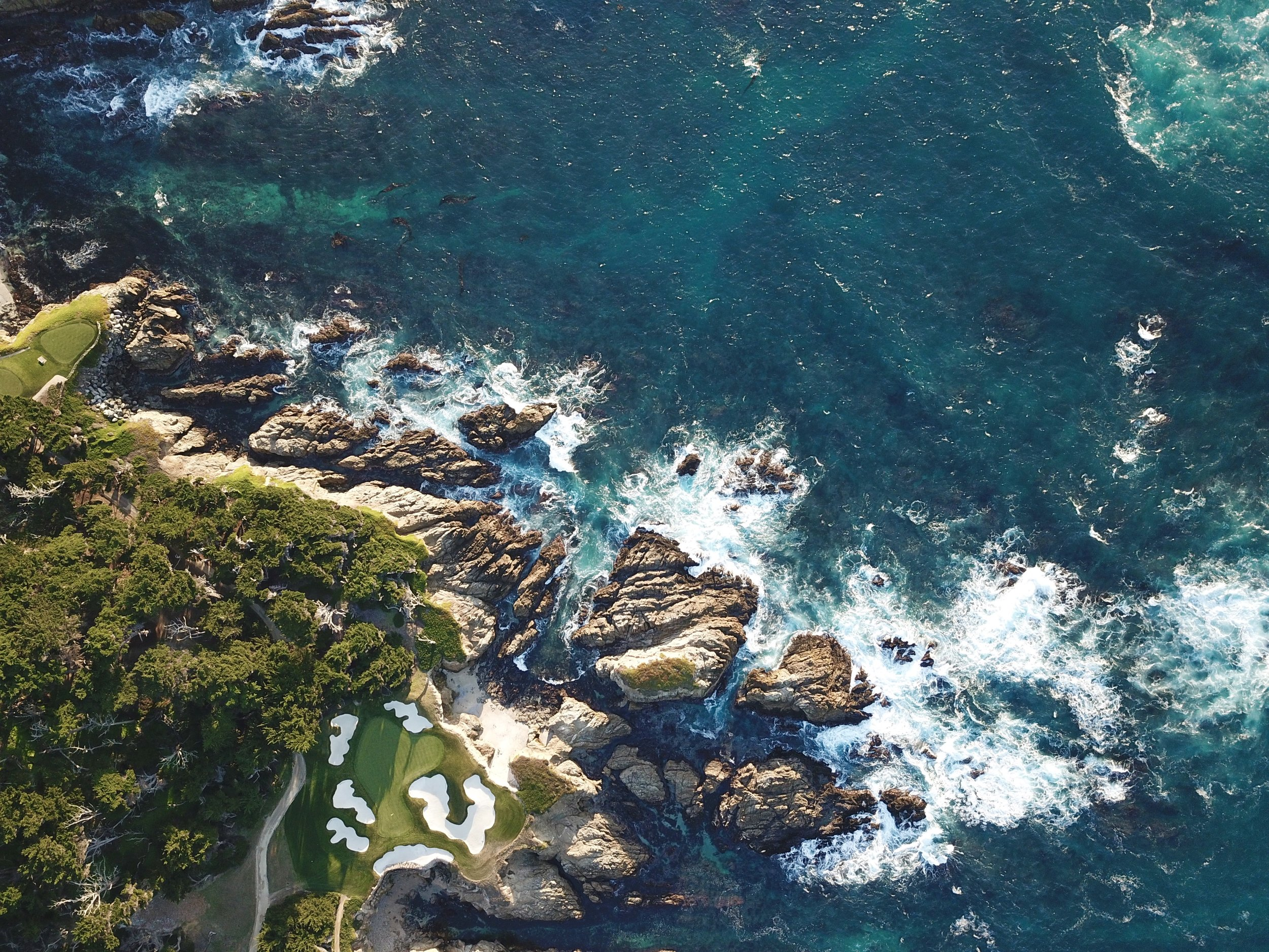 One of our favorite spots on the 17 Mile Drive (you may need a helicopter to see this)