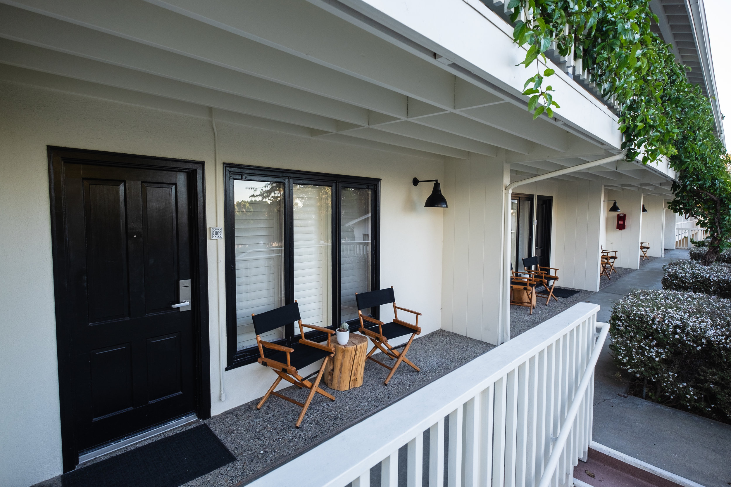 Cozy porches for your morning coffee
