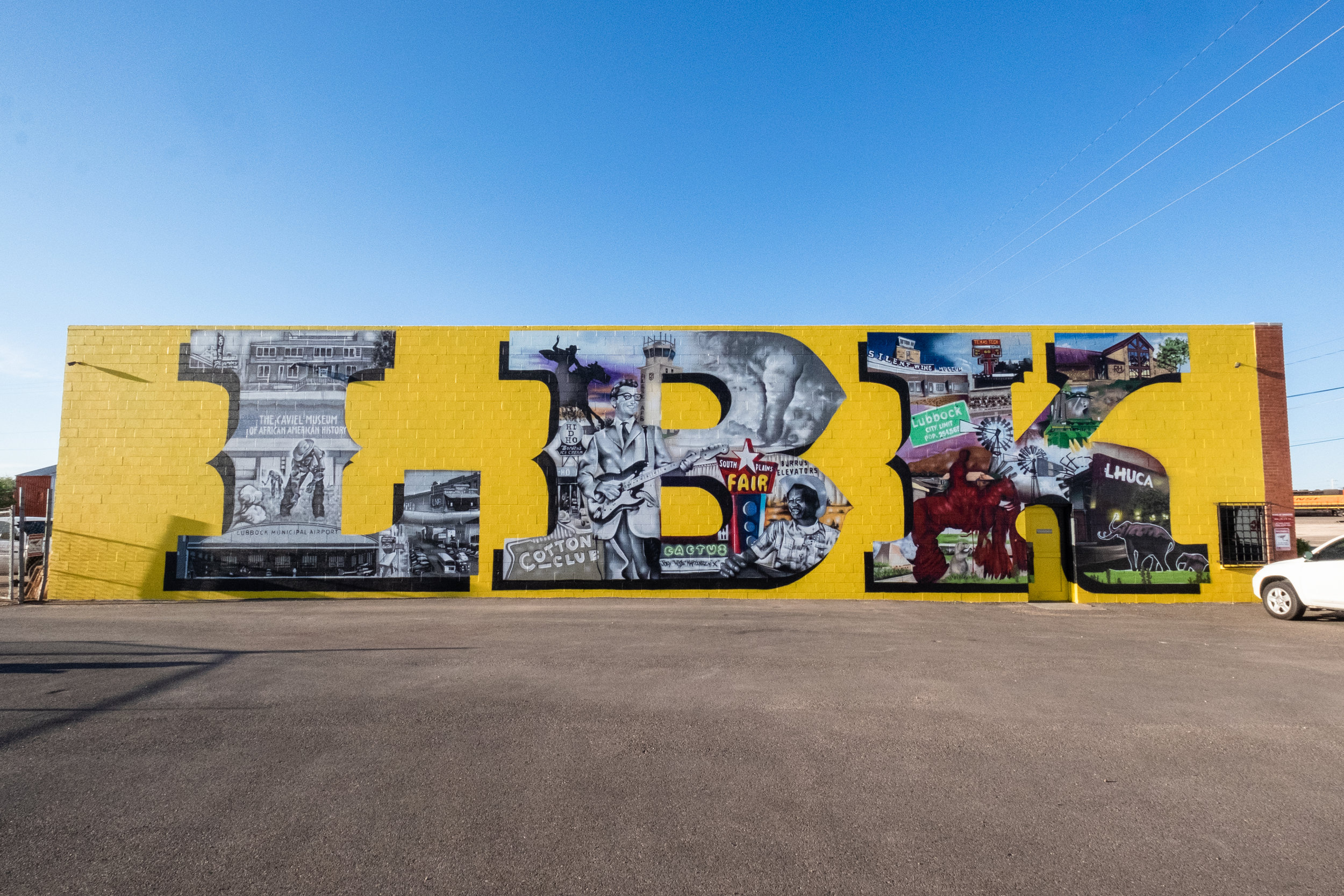 "The ""LBK"" mural (painted by artist Joey Martinez, located at 1219 Ave. A)"
