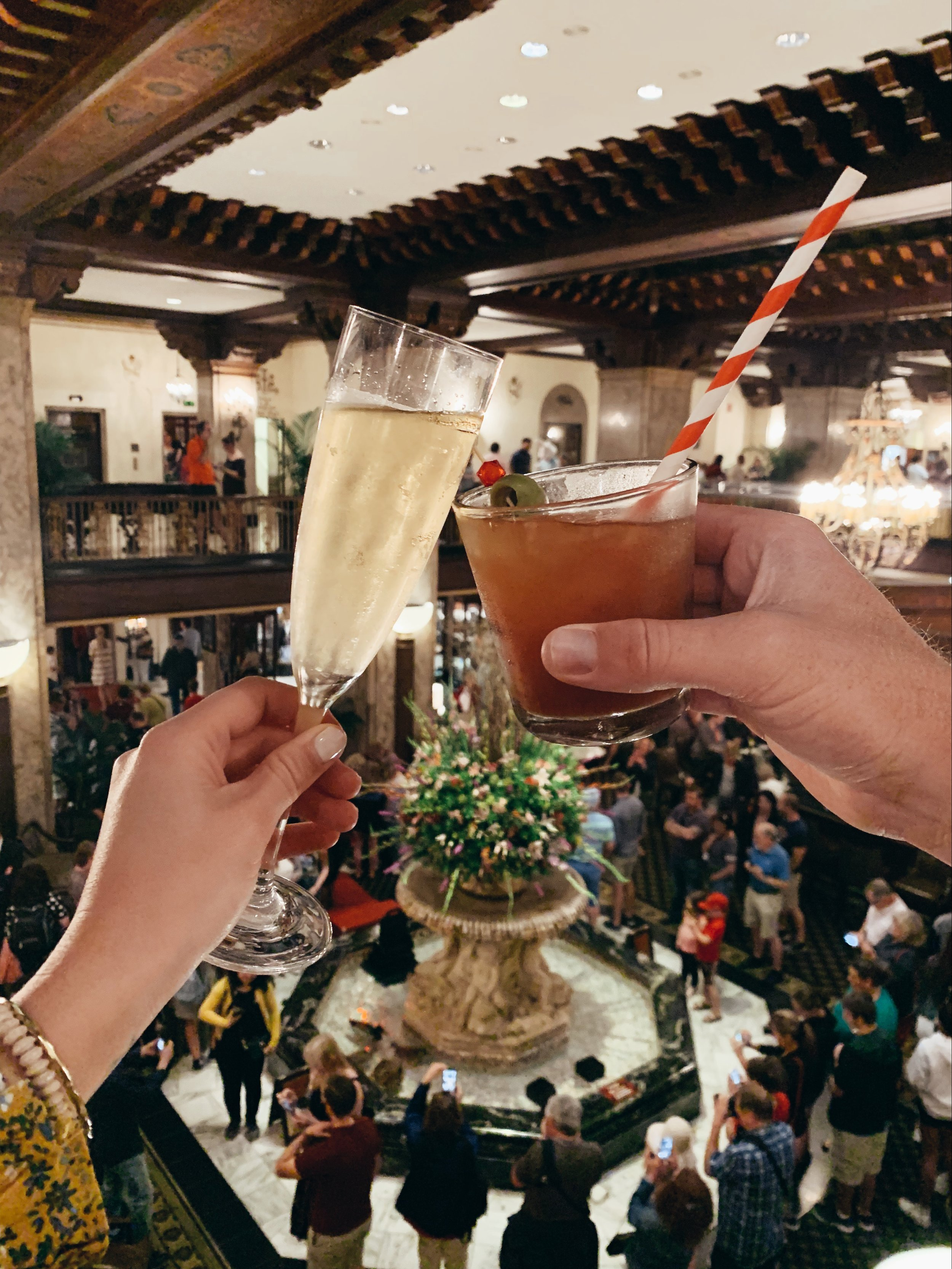 Cheers to Easter brunch at the Peabody