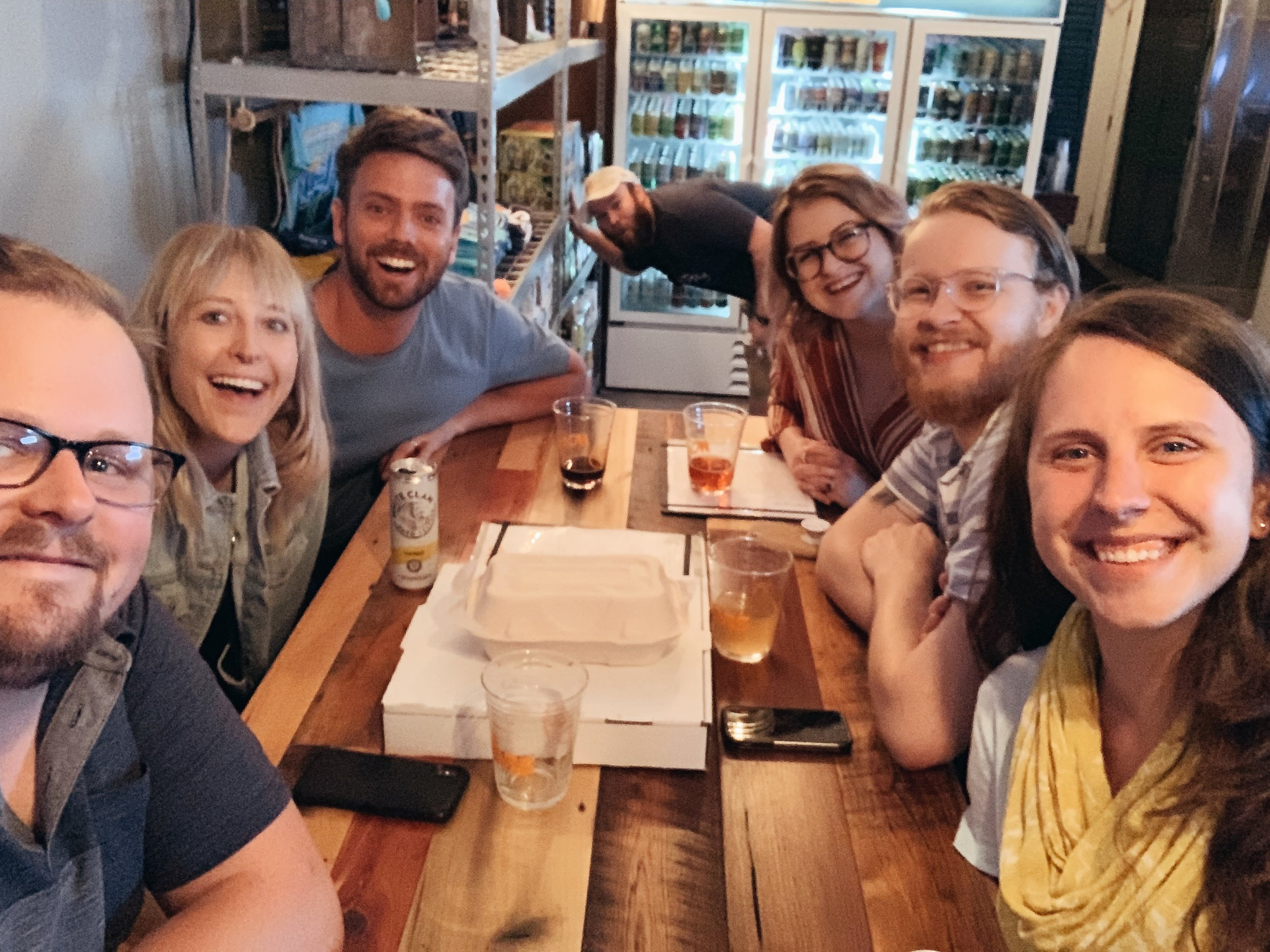 We left with more knowledge of beer, but also some new pals!