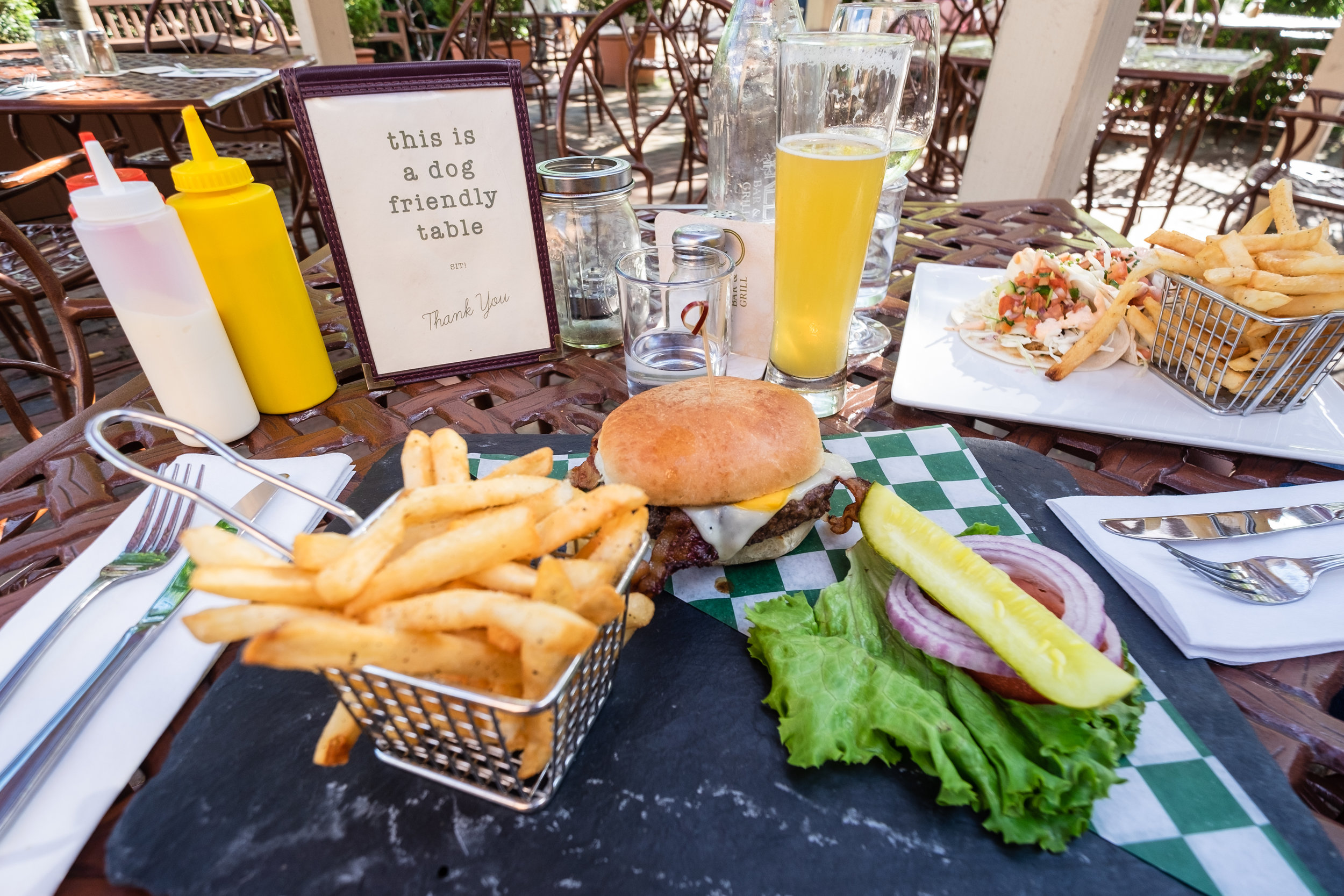 Yummy lunch at The Trellis Bar and Grill!
