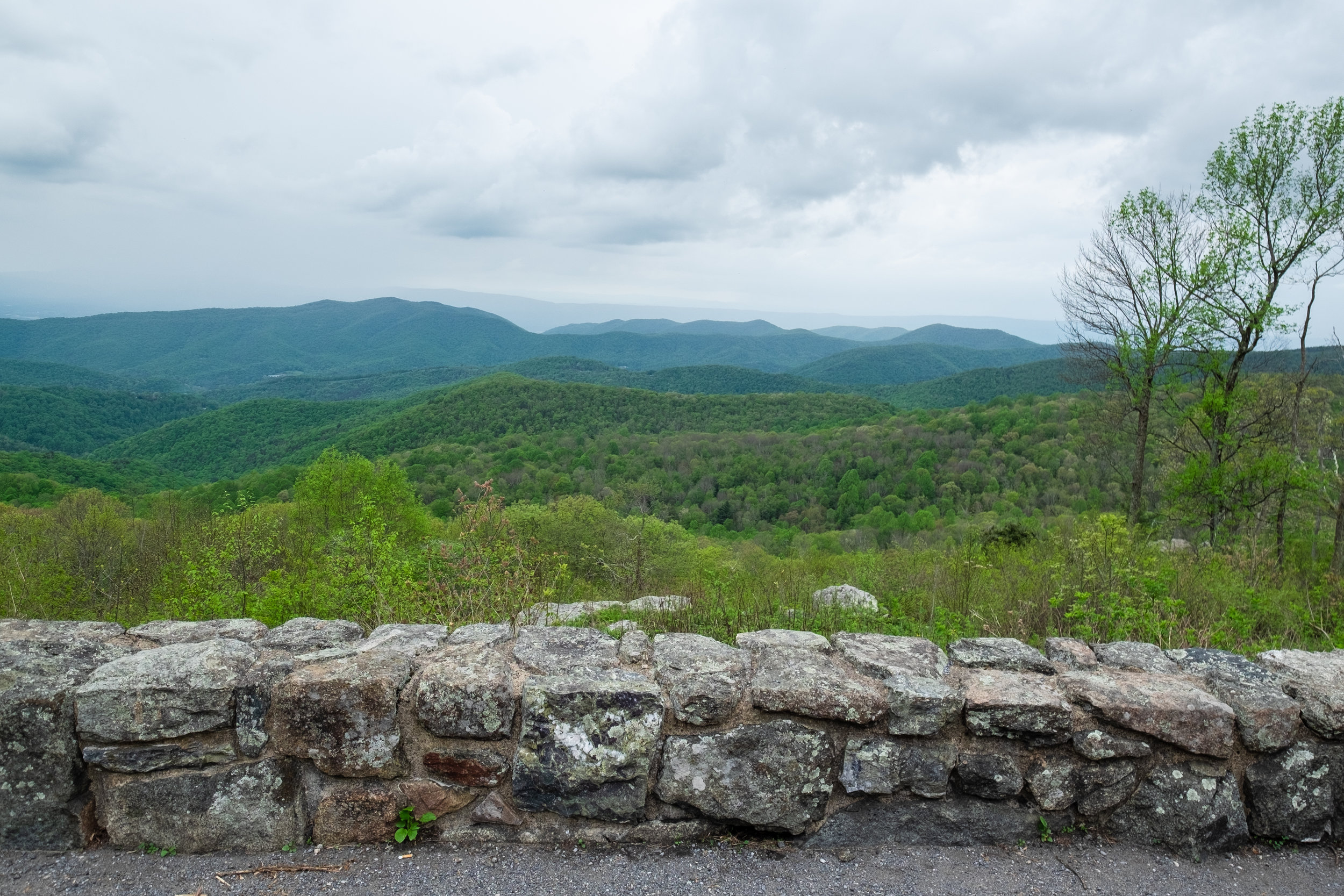 Stunning views all over Shenandoah National Park