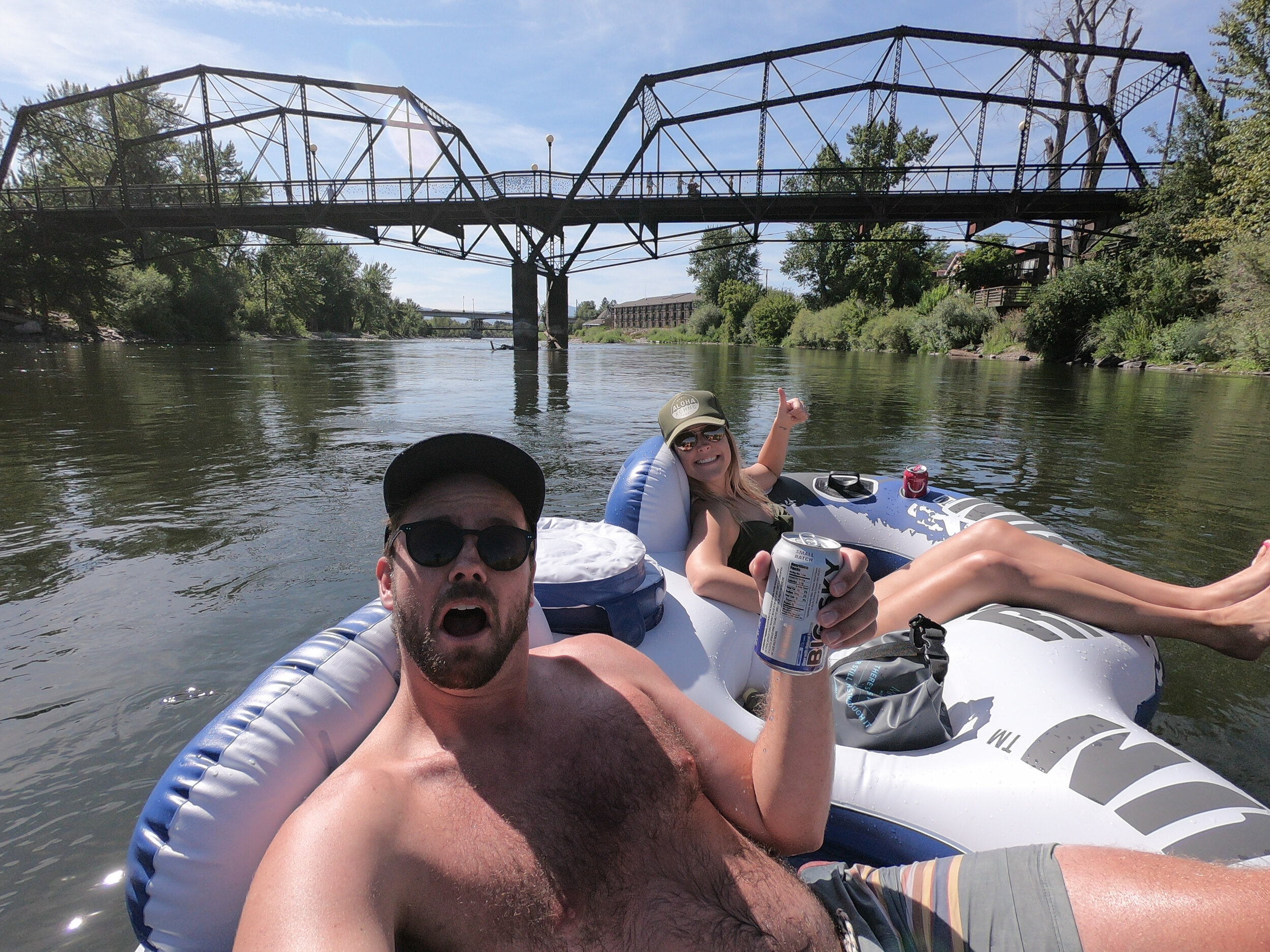We can't wait to come back for more food, drinks, and river floating!