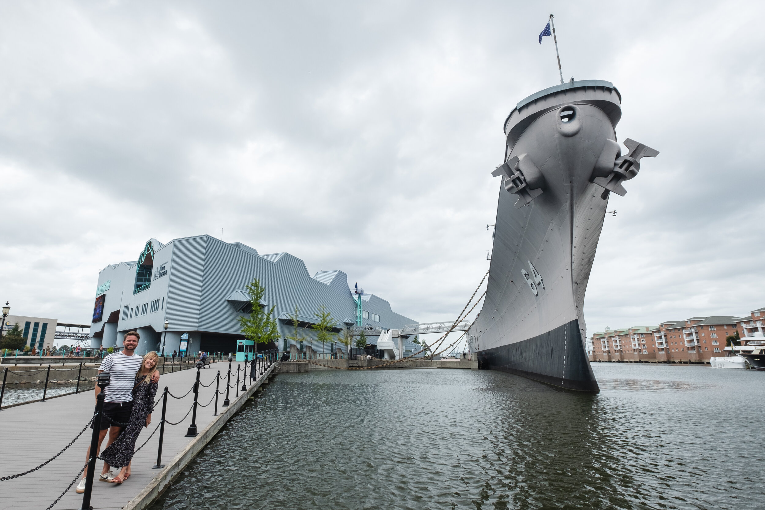 We could have spent all day at the Nauticus and Battleship Wisconsin.