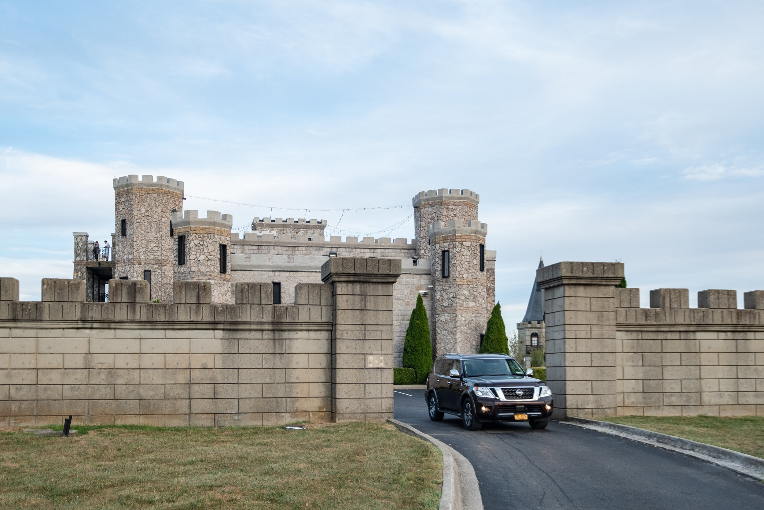 A luxurious ride calls for a luxurious hotel… castle anyone?