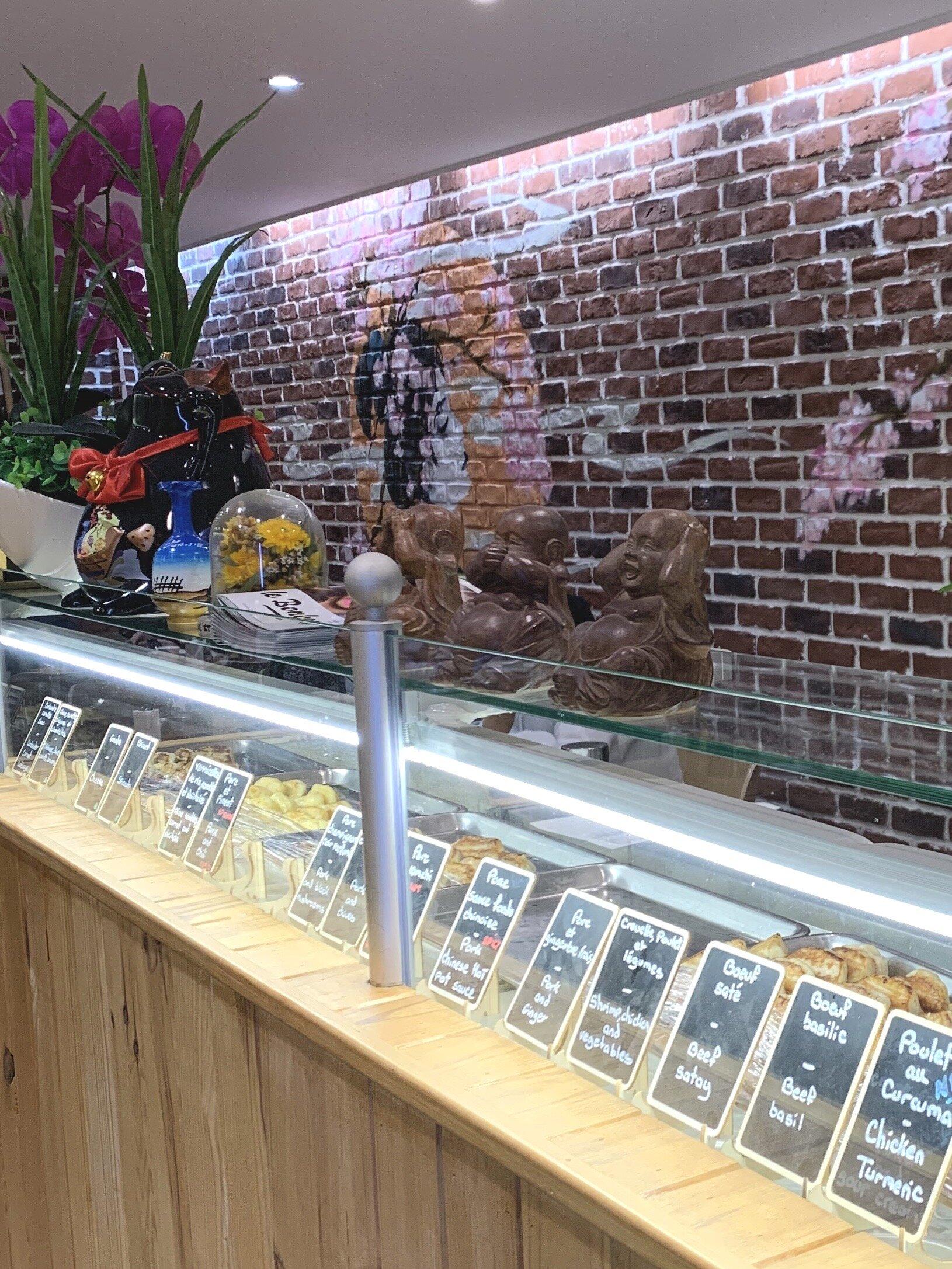 Tons of flavors at Gyoza House… paradise!