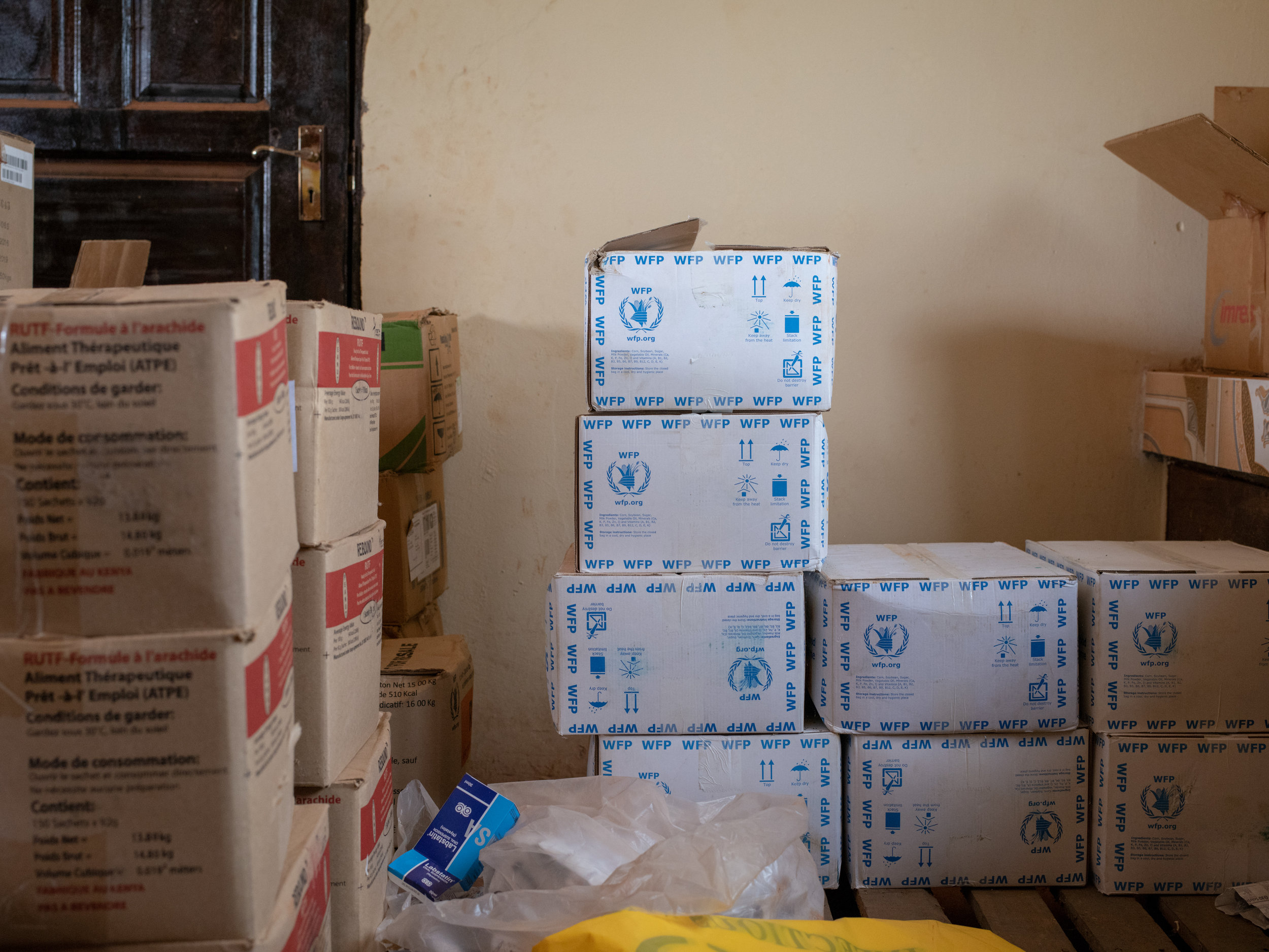 Nutrition supplements, but no one to distribute them