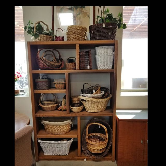 Spring has sprung and we have some great baskets...#newagaintreasures #thriftstorefinds #basket #newagain #thrift #store #boise #idaho #coleandfranklin