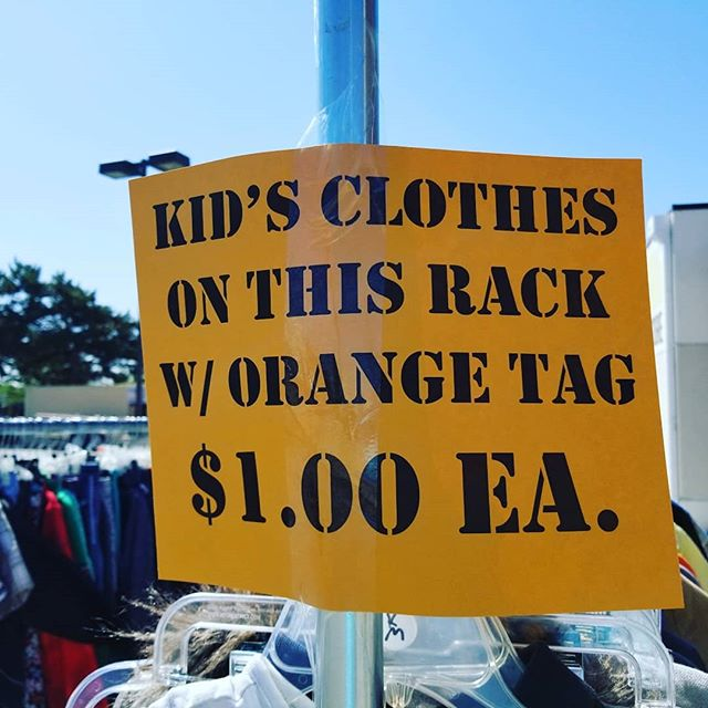 Check out this special...#newagaintreasures #backtoschool #kidsclothes #kidsclothing #thriftshopping #thriftstorefinds #newagain #thriftstore #boiseidaho #coleandfranklin