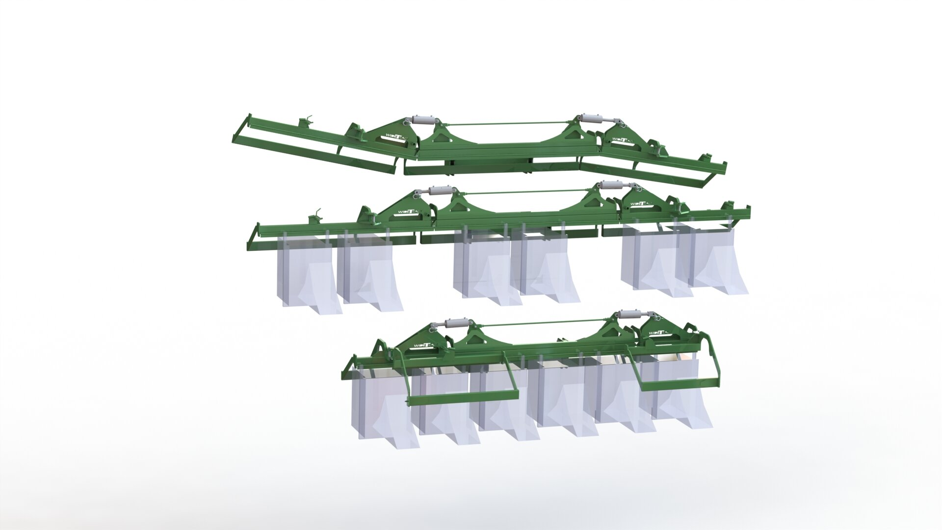 effective ground-following and folding for legal transport