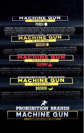 Prohibition Brands Machine Gun Joints